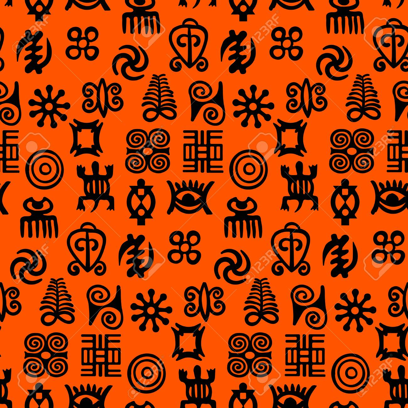 African adinkra pattern black and white digital art ritual african adinkra pattern black and white digital art ritual symbols and screen printing nations and biocorpaavc Image collections