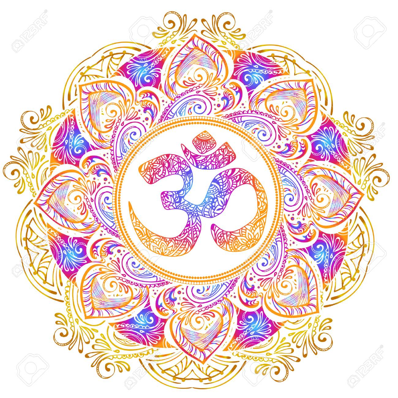 Isolated image mandala vector illustration. - 85186947