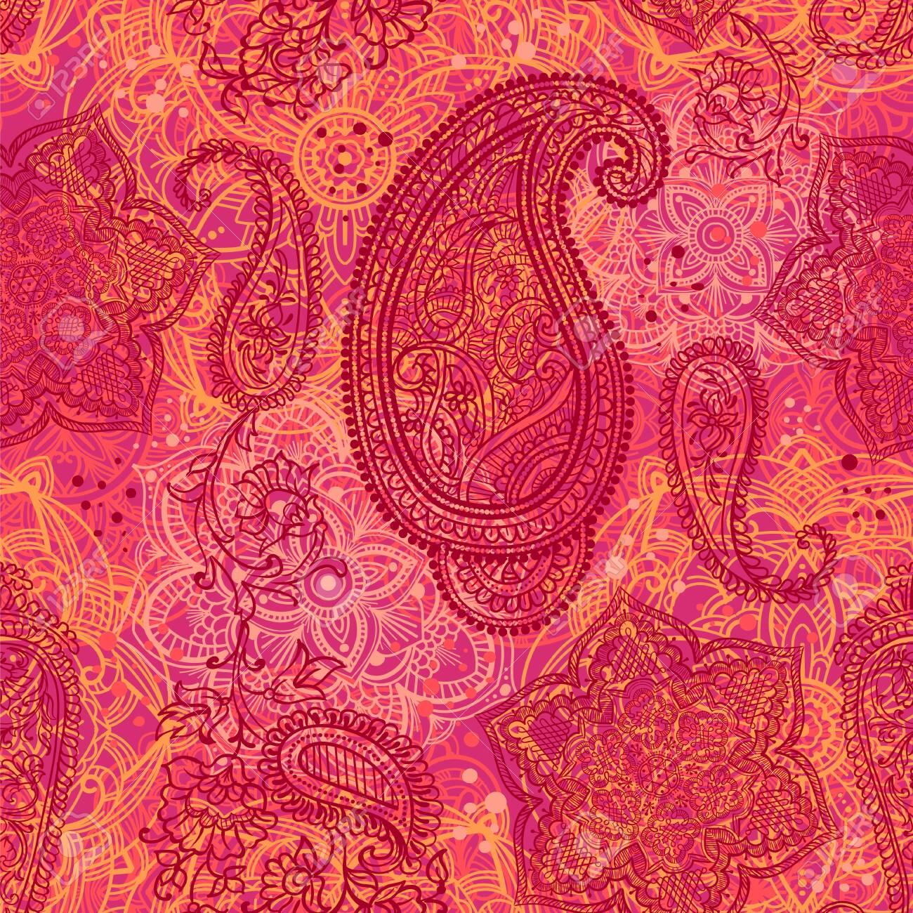Paisley seamless pattern - 149823717