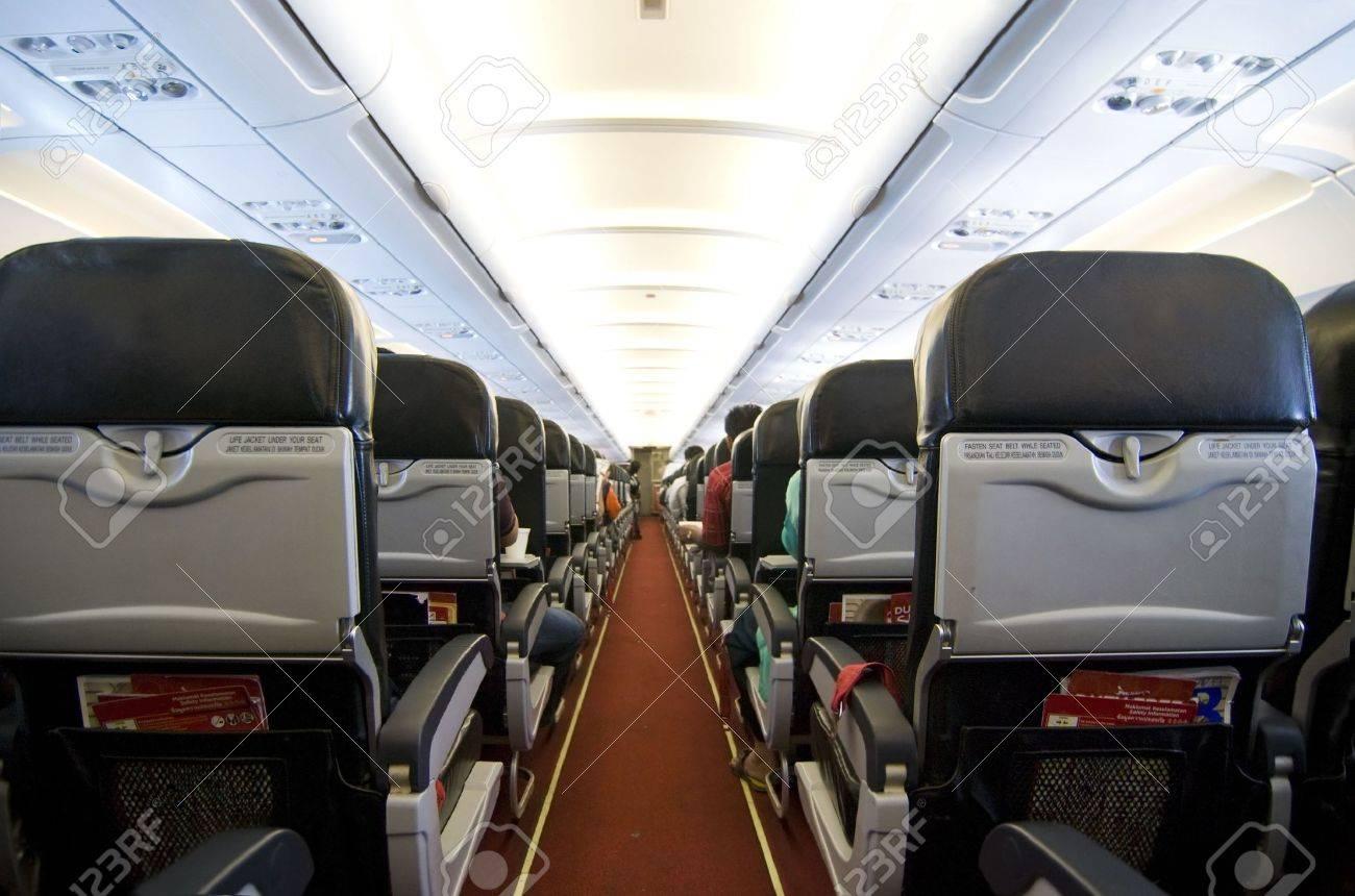Airplane Interior Stock Photo   5796422