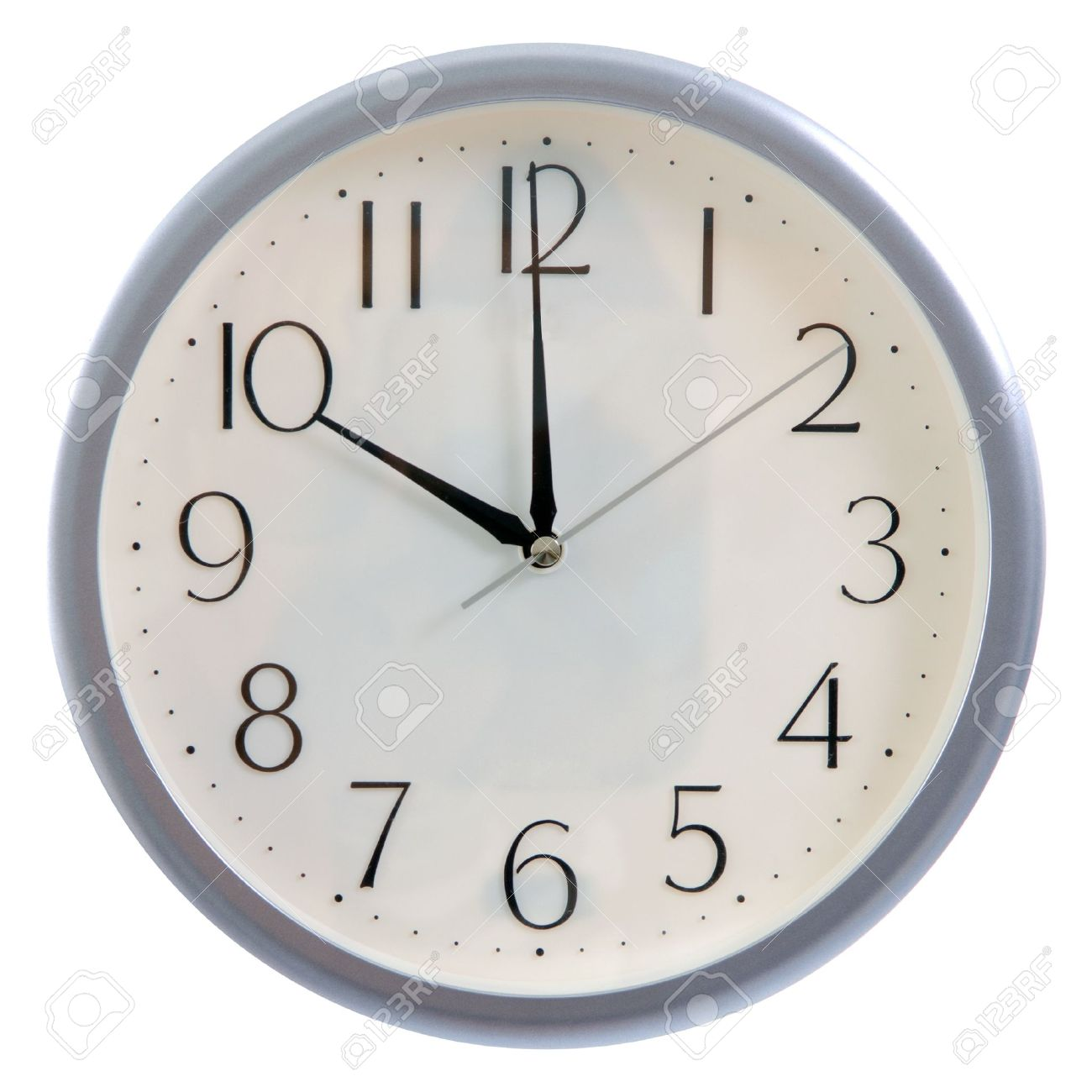 Isolated white clock at 10pm or 10am stock photo picture and isolated white clock at 10pm or 10am stock photo 15495930 amipublicfo Images