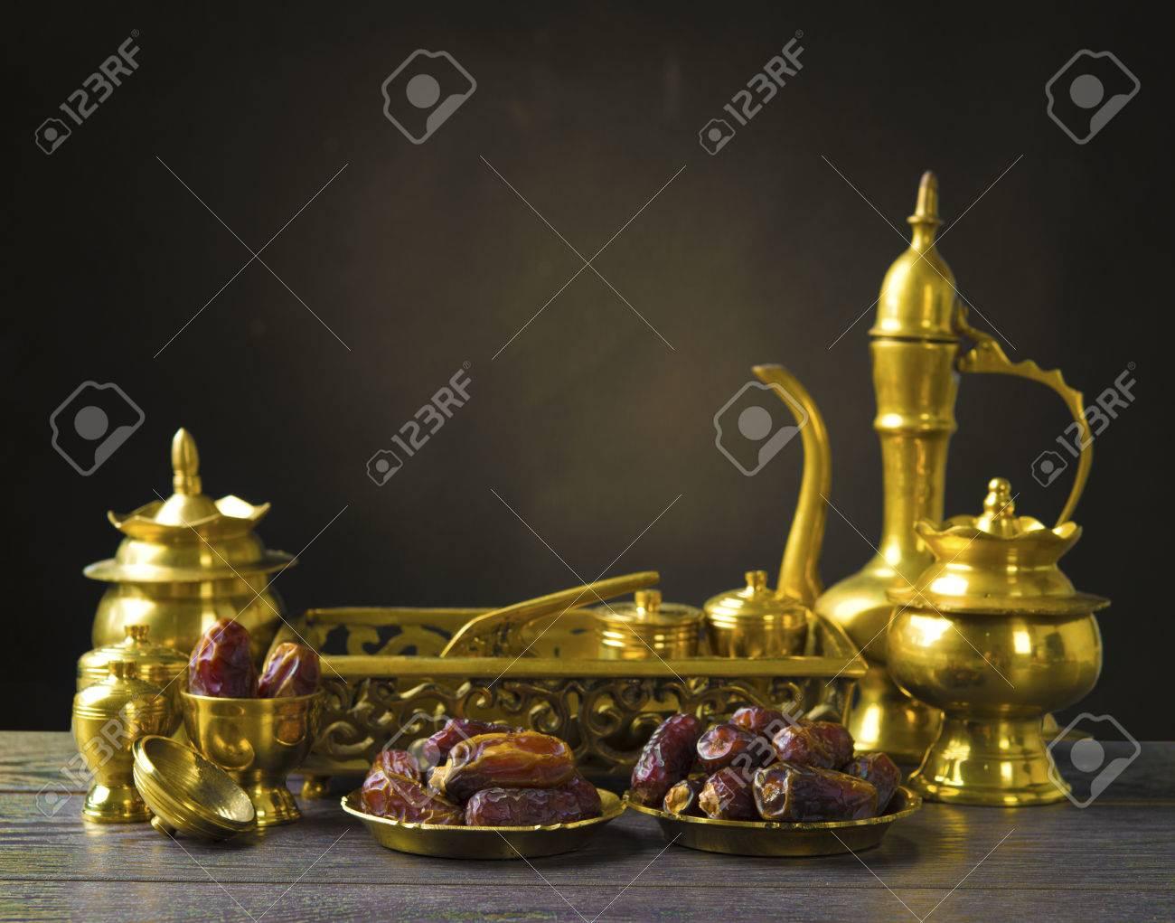 ramadan food also known as kurma , Palm dates Stock Photo - 22847979