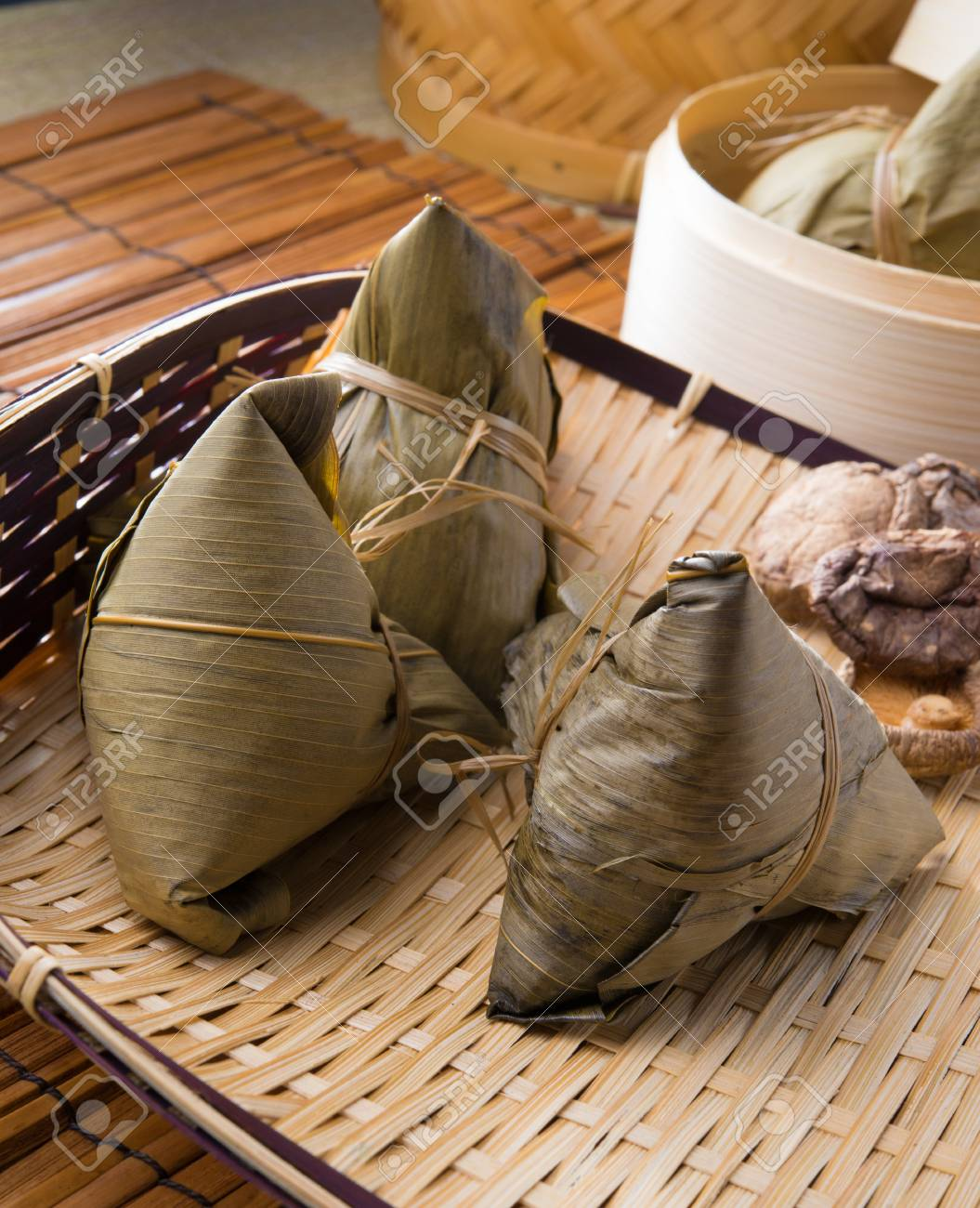 chinese dumplings, zongzi usually taken during festival occasion Stock Photo - 23200961