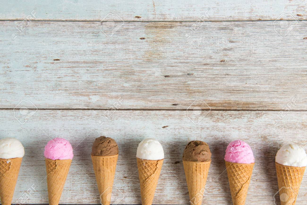 various ice creams Stock Photo - 67310382