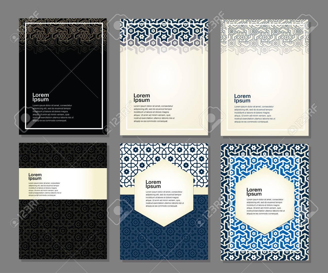 Banners set of islamic