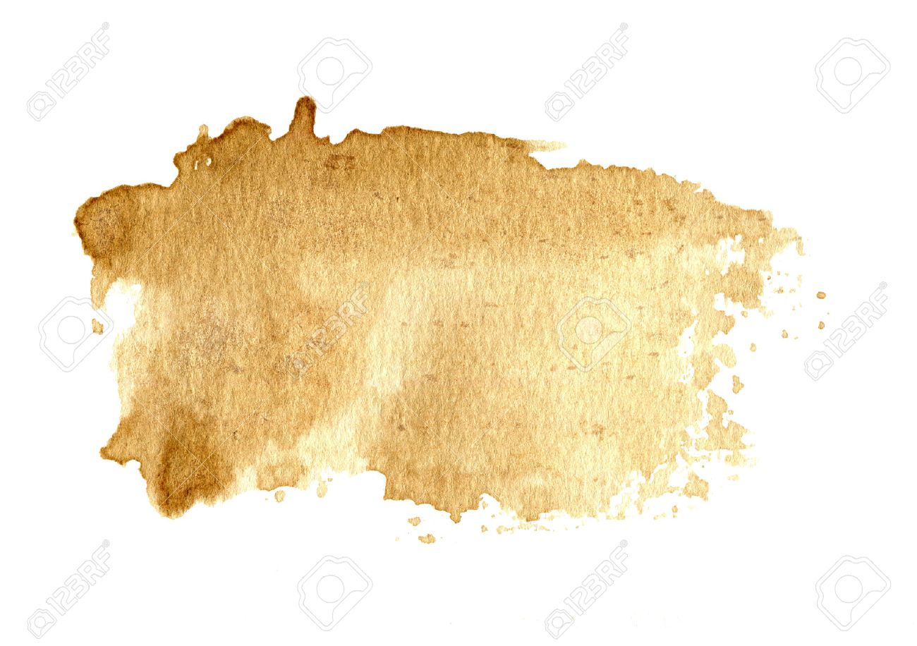 Brown Old Paper Texture Background Coffee Color Hand Paint