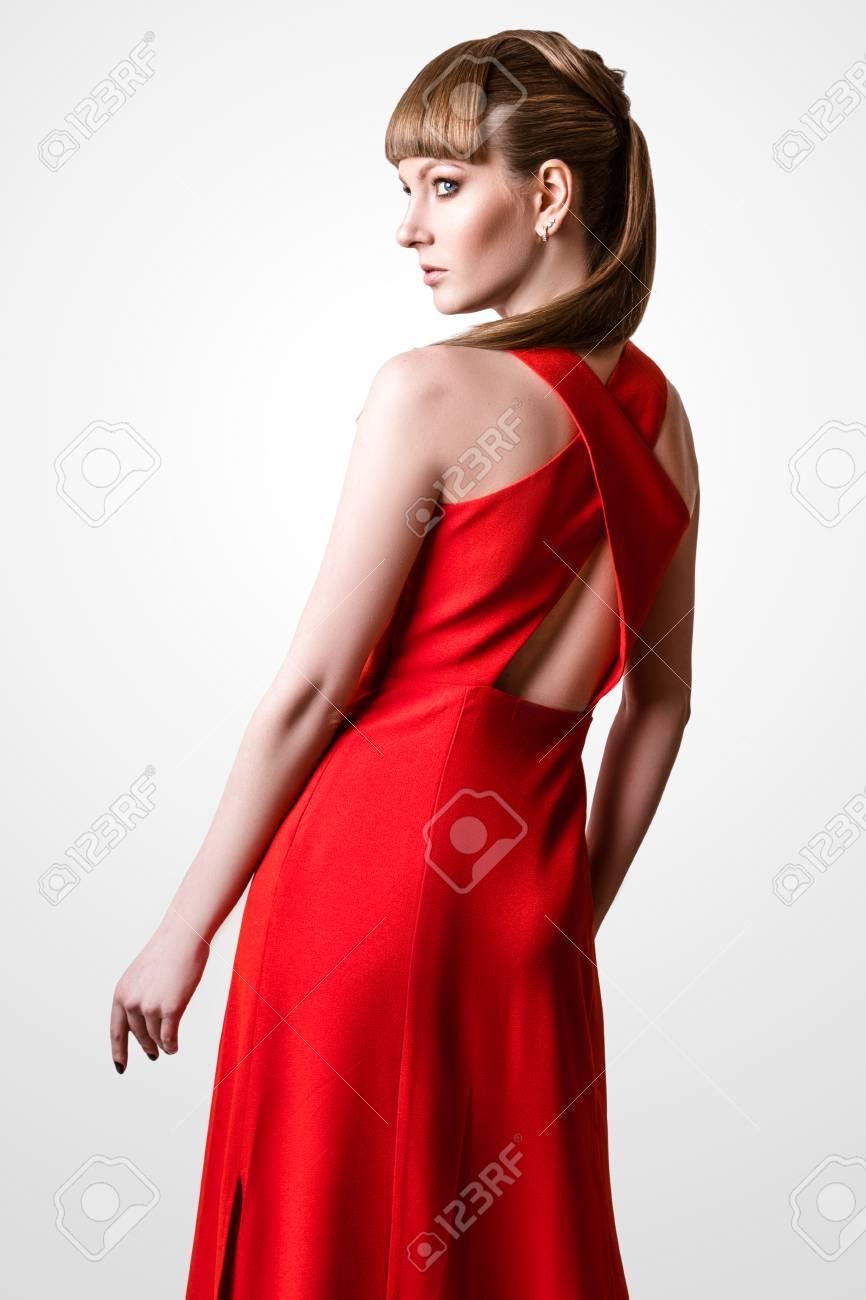 Simple Beautiful Red Dress