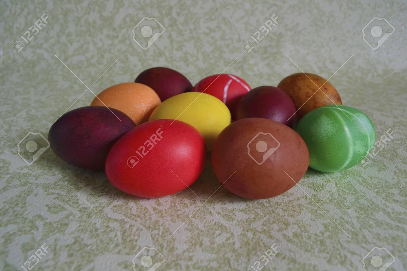 Gemütlich Osterei Farbstoff Mit Lebensmittelfarbe Fotos ...