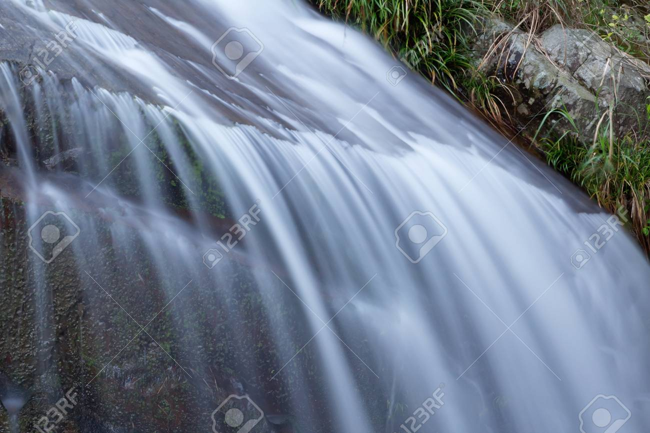 Deep forest Waterfall in china,guilin Stock Photo - 13756465