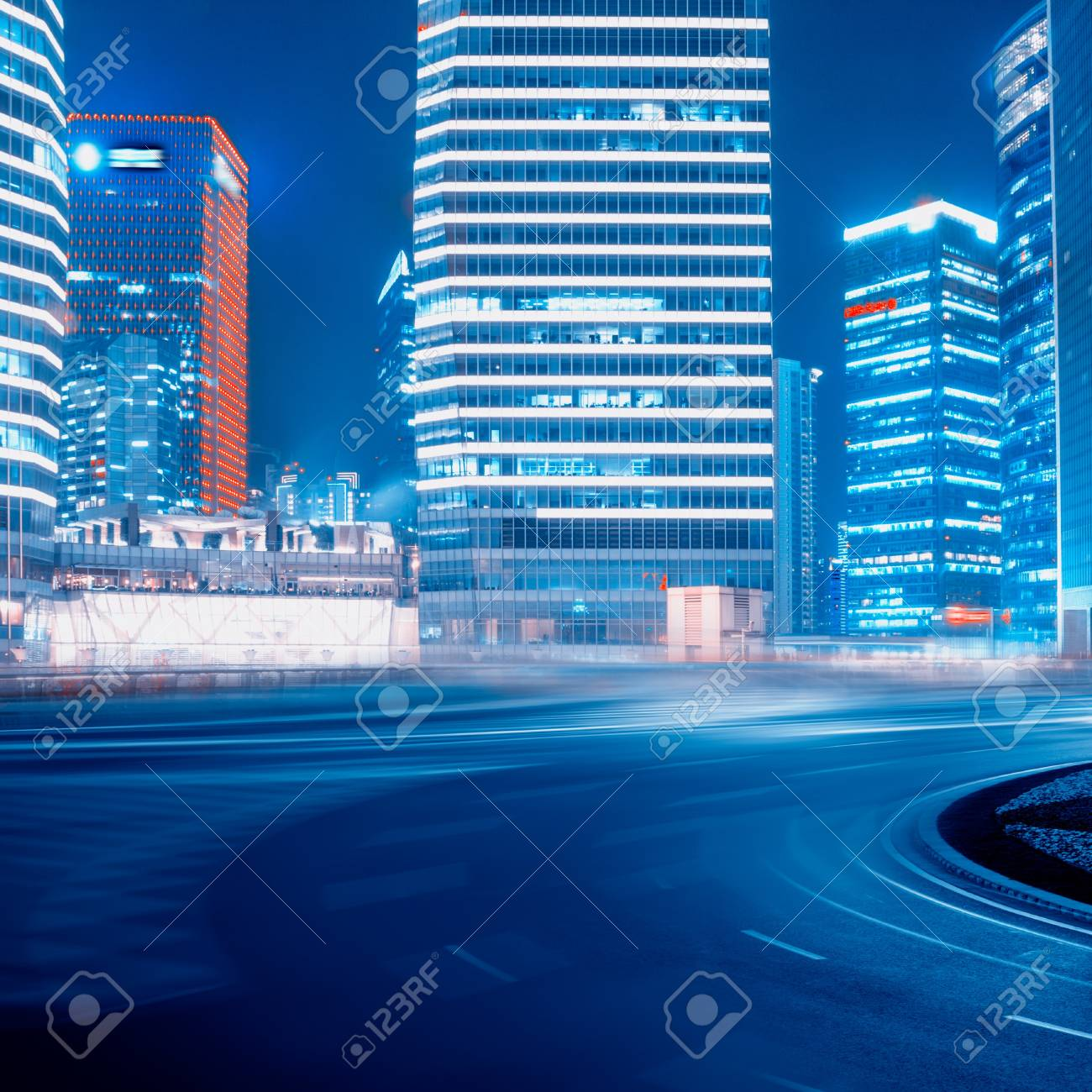 Road and urban background Stock Photo - 15571381