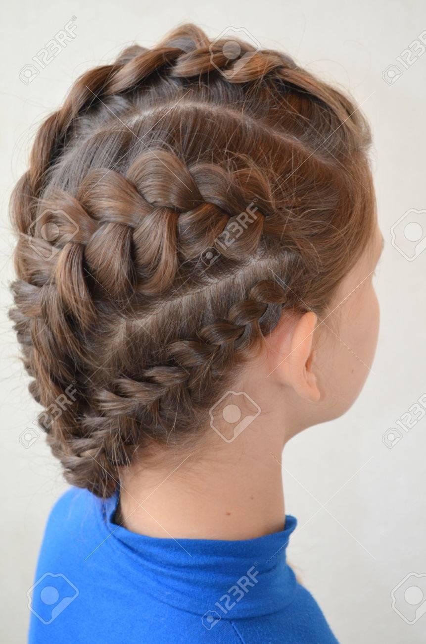 Фото причесок французской косы