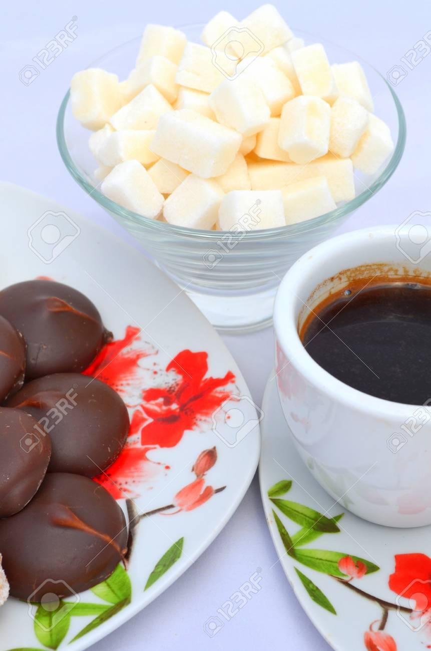 Schön Guten Morgen Frühstück Galerie Von Morgen, Frühstück - Kekse, Süßigkeiten Und Kaffee