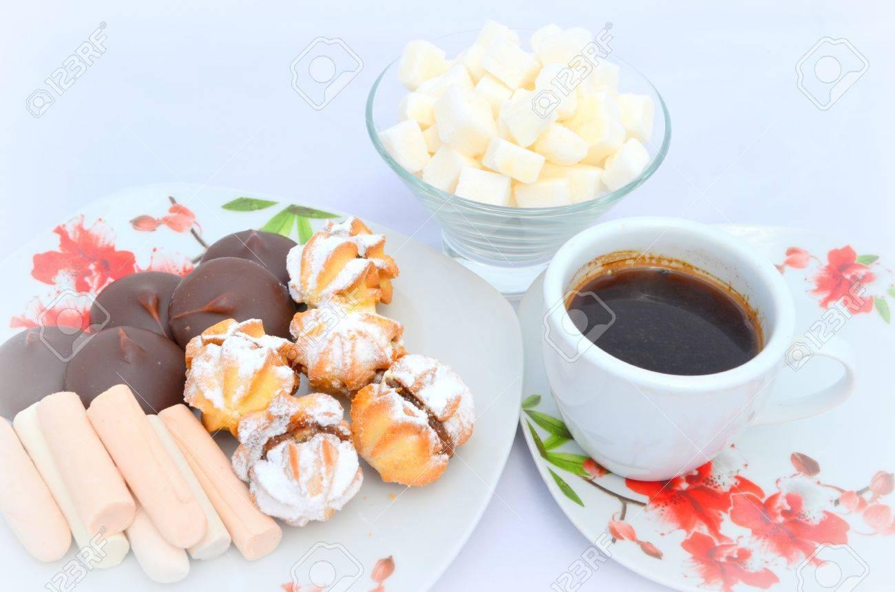 Ansprechend Guten Morgen Frühstück Sammlung Von Morgen, Frühstück - Kekse, Süßigkeiten Und Kaffee