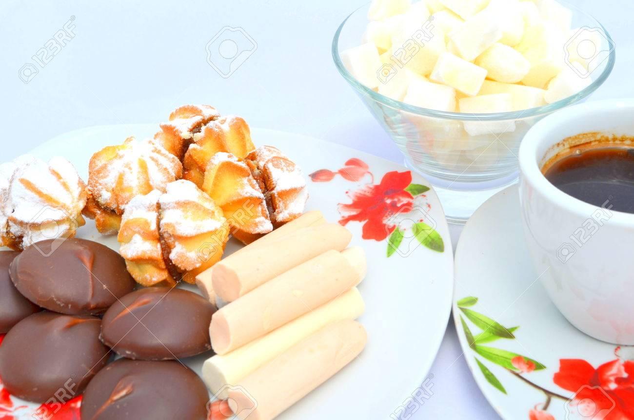 Bezaubernd Guten Morgen Frühstück Galerie Von Morgen, Frühstück - Kekse, Süßigkeiten Und Kaffee