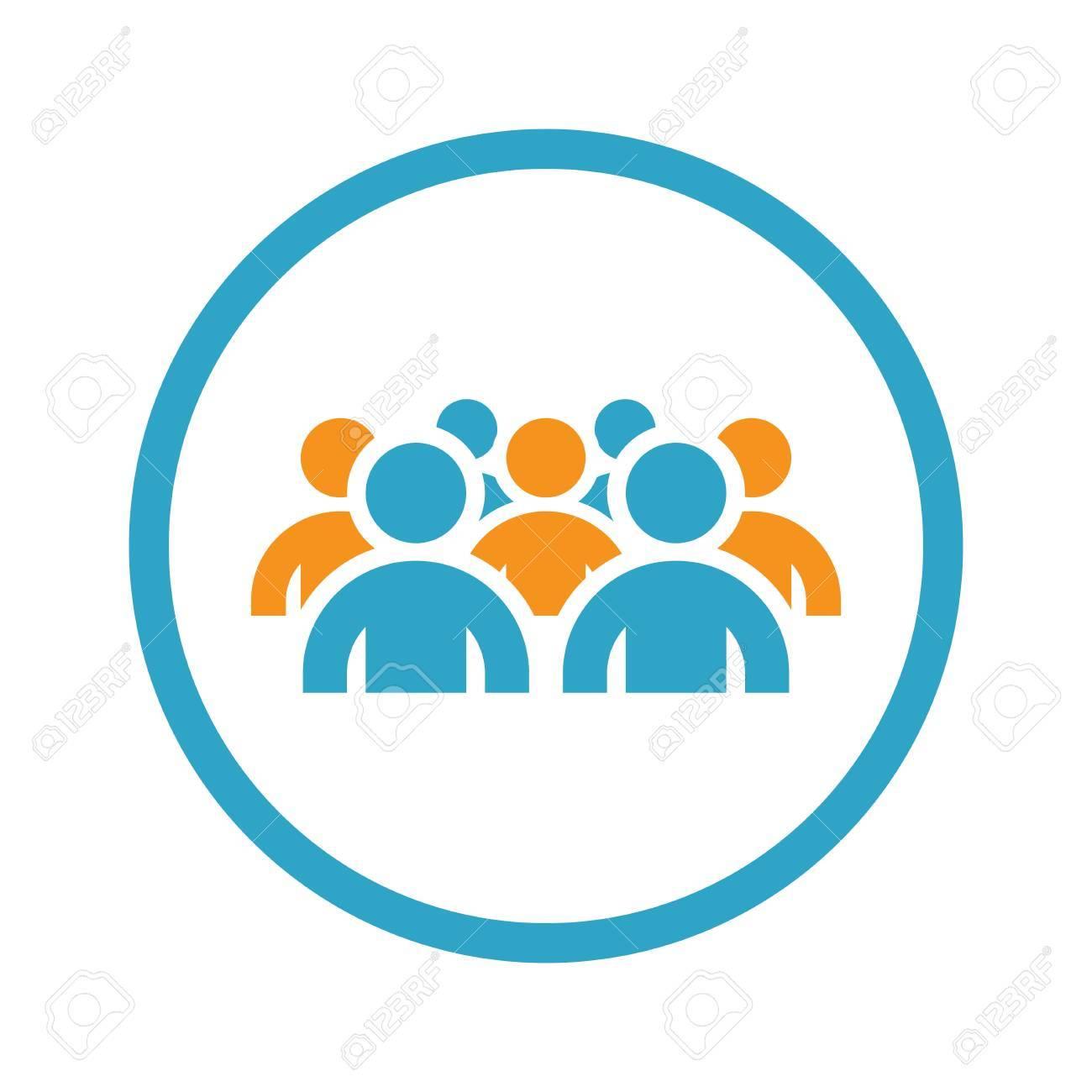 Groupe De Personnes Différentes Dans La Communauté Isolé Sur Fond Blanc Clip  Art Libres De Droits , Vecteurs Et Illustration. Image 61618532.