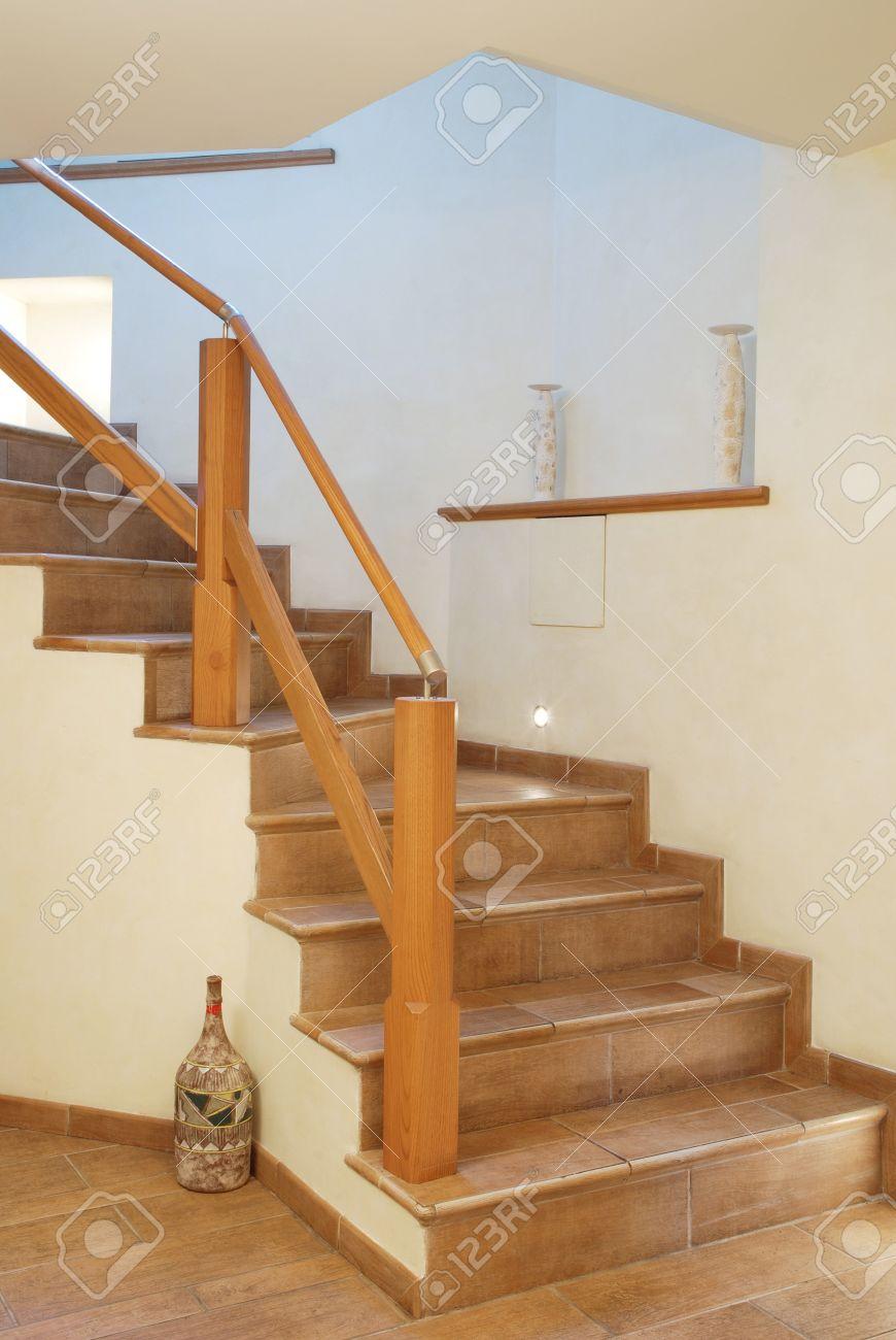 Barandilla Escalera Madera Elegant Barandilla Colocada En Escalera