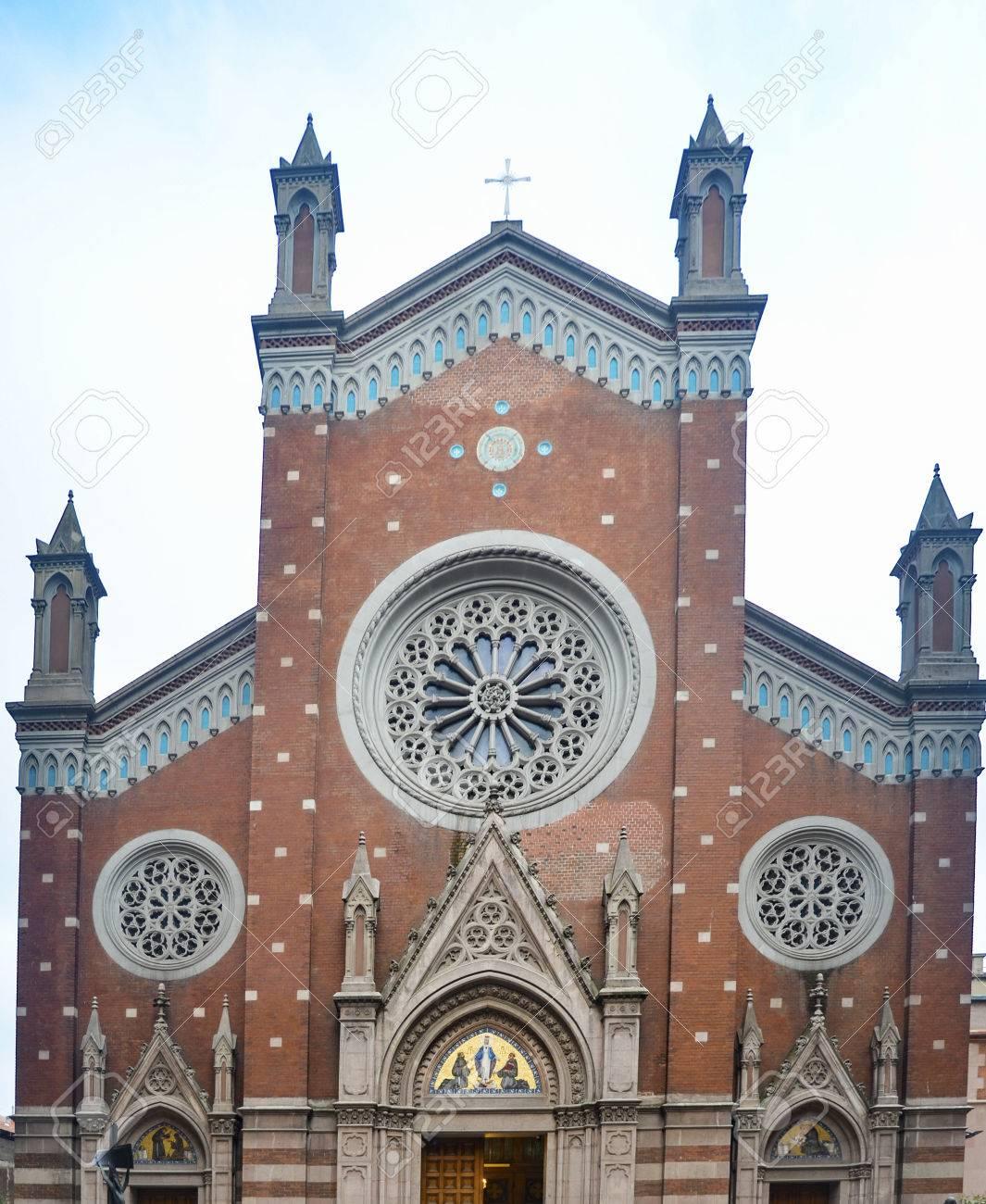 Istanbul, Turkey - December 29, 2013: St  Antoine Catholic Church