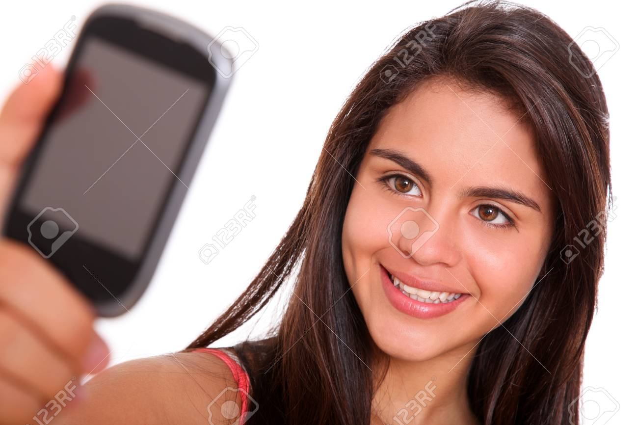 Woman taking a photo with his cell phone Stock Photo - 9314864