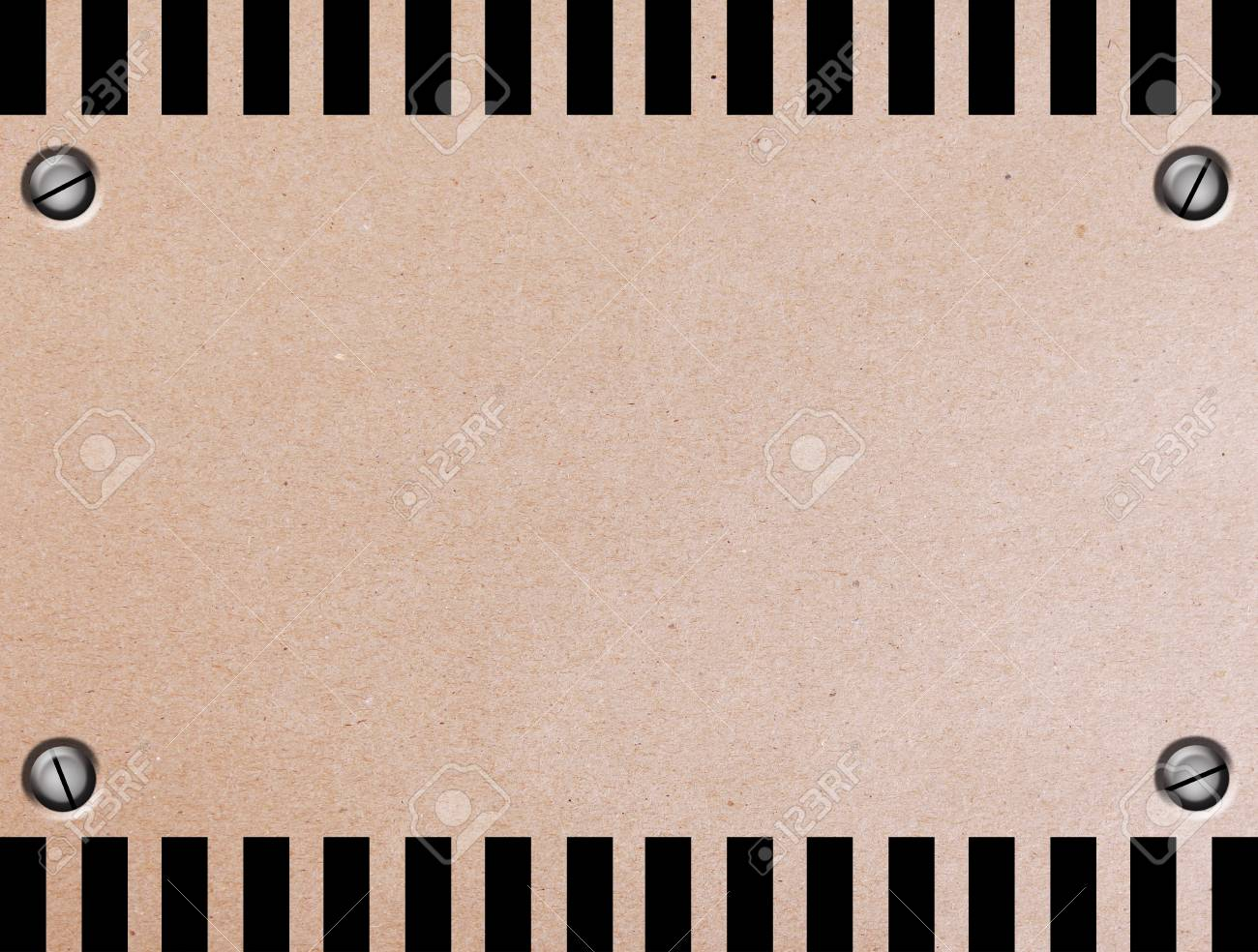 Brown and black sheet in sign of caution.Illustration Stock Illustration - 9696814