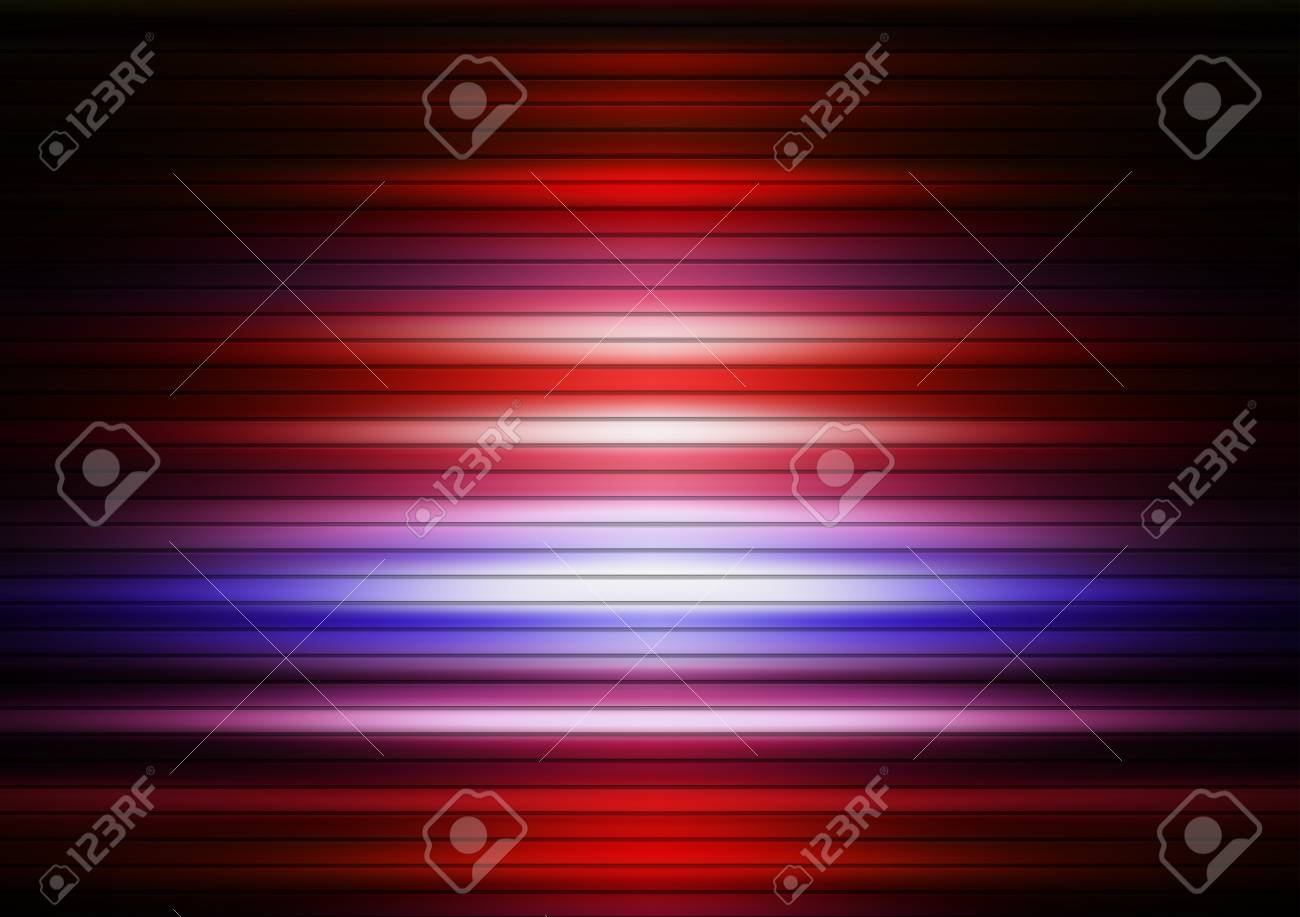 Red and blue lines background, abstract illustration Stock Illustration - 9693856