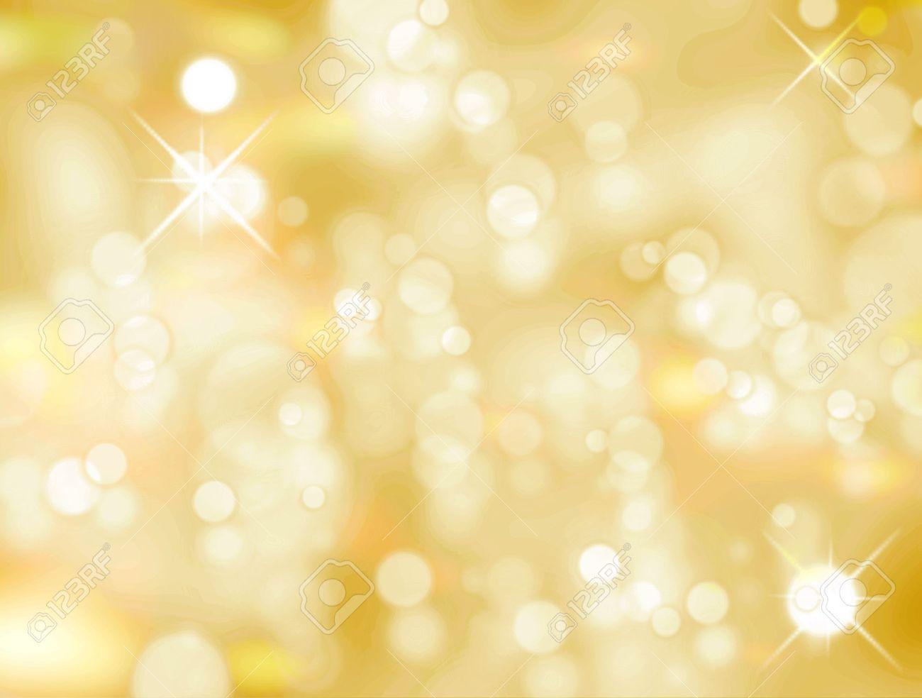 Christmas light background, Yellow and white luminous image Stock Photo - 9694108