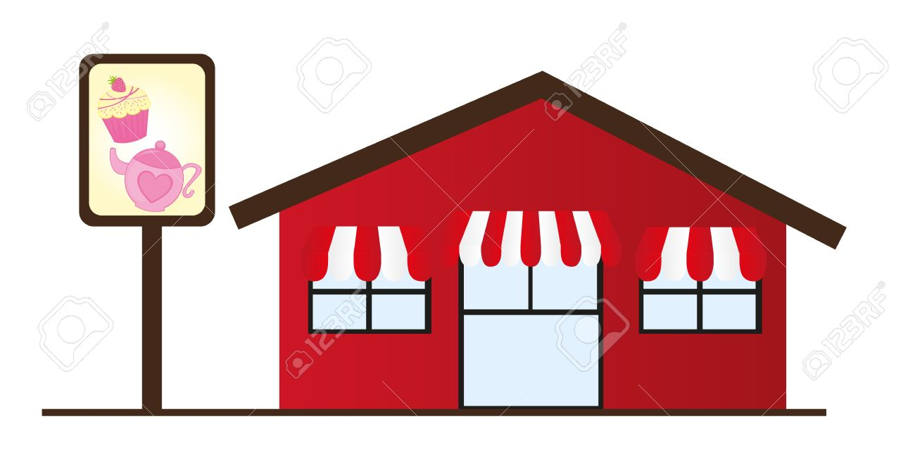Restaurant building clipart  9,814 Restaurant Building Stock Illustrations, Cliparts And ...