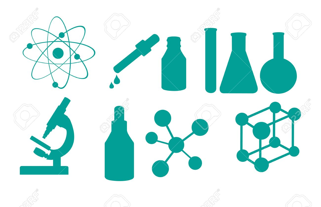 science icons isolated over white background vector illustration rh 123rf com free vector science icons free vector science elements