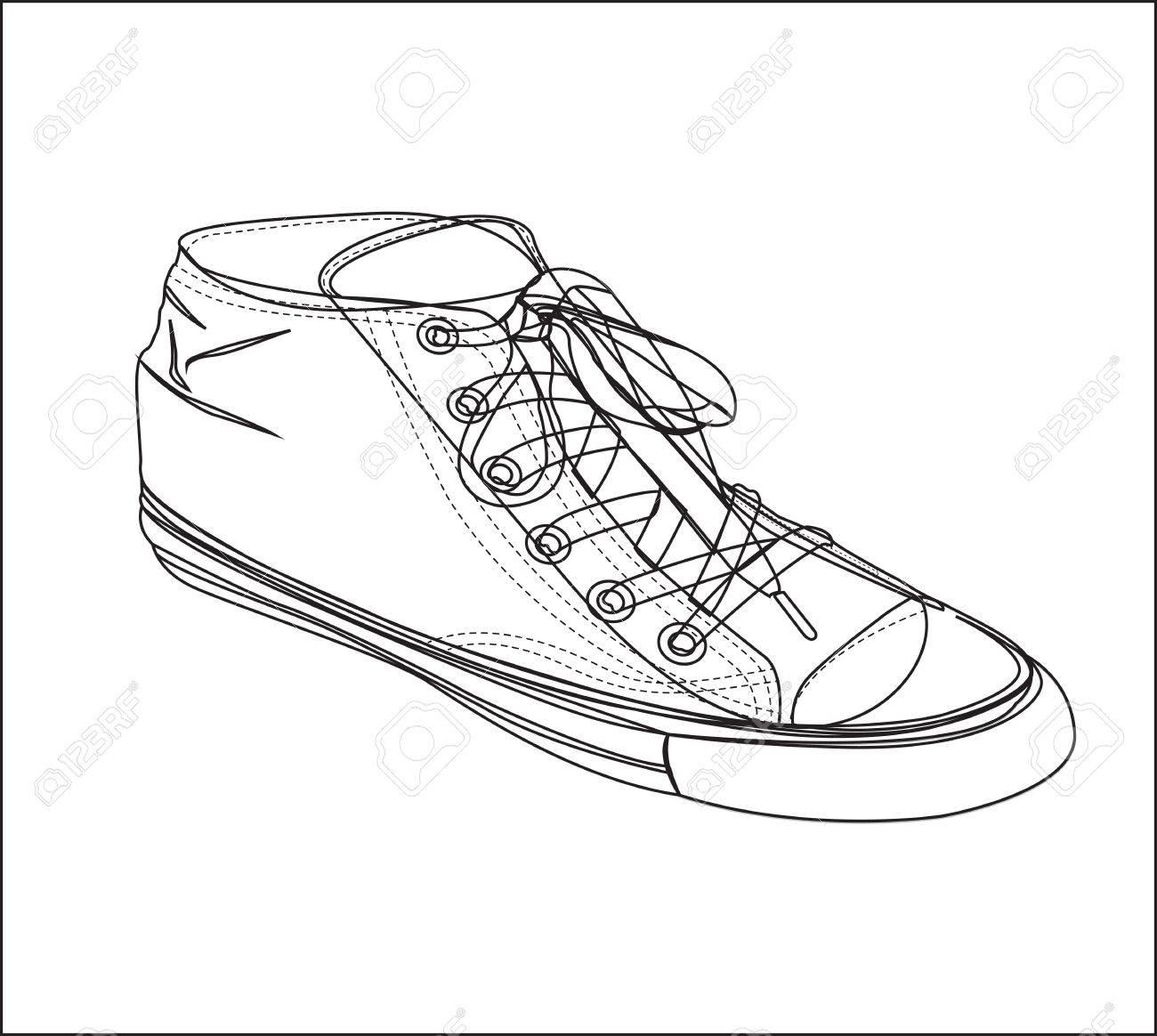 Tennis silhouette on white background, vector illustration Stock Vector - 14375047