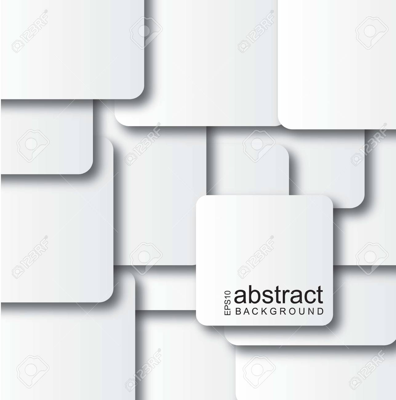 many papers forming a white background Stock Vector - 14751455