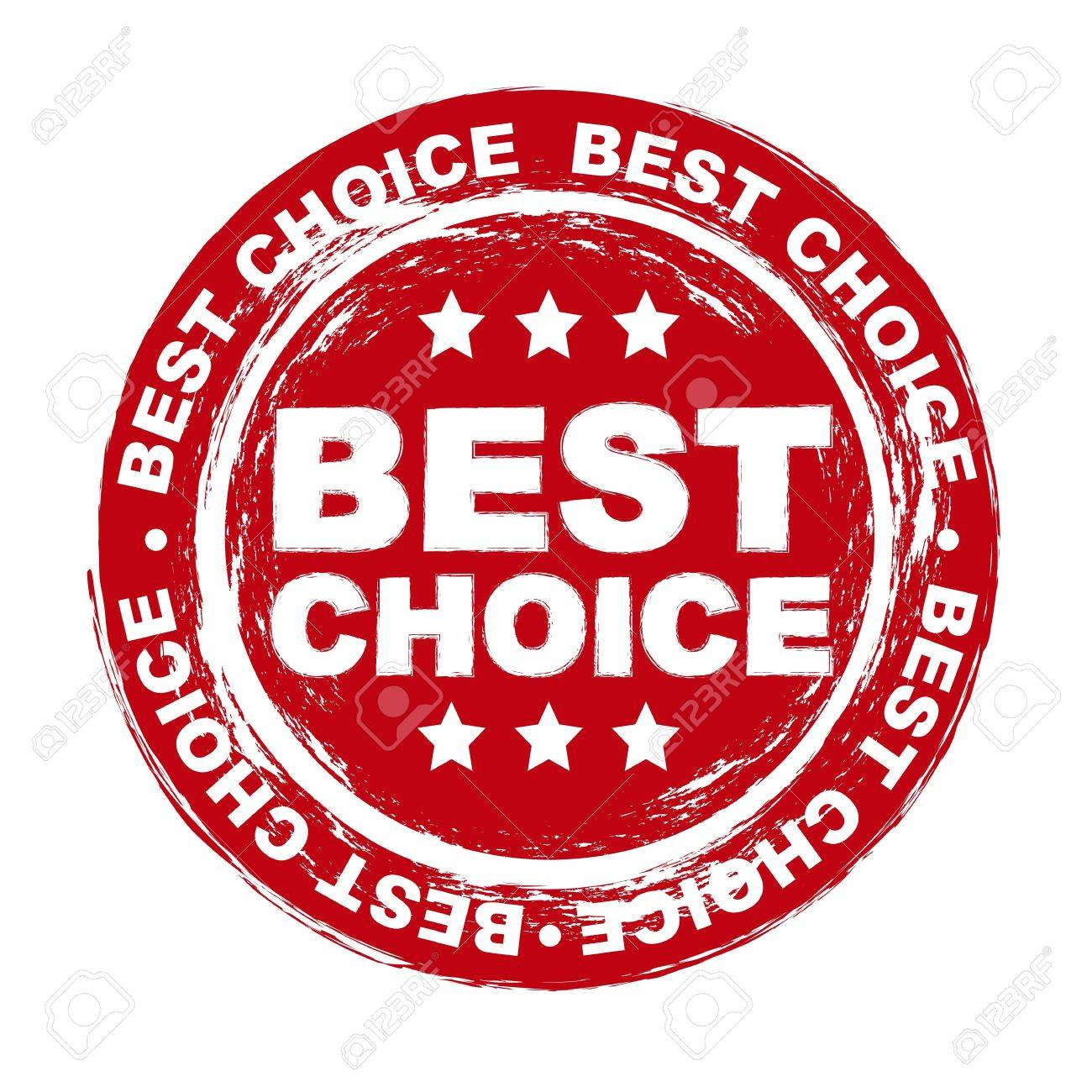 best choice stamp over white background. vector illustration Stock Vector - 16290316