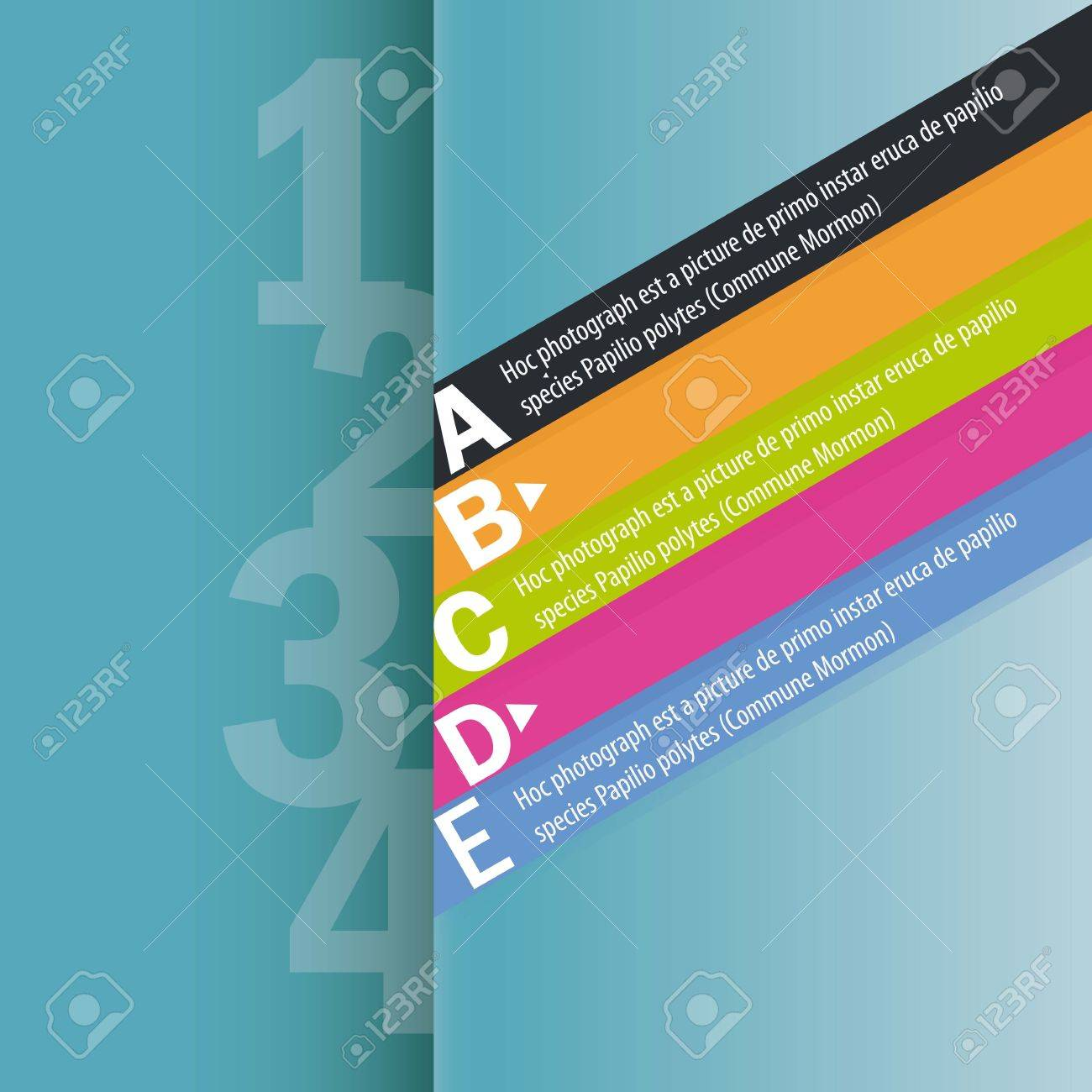 Design template. Suitable for all kinds of advertising and for infographics. Stock Vector - 16841404