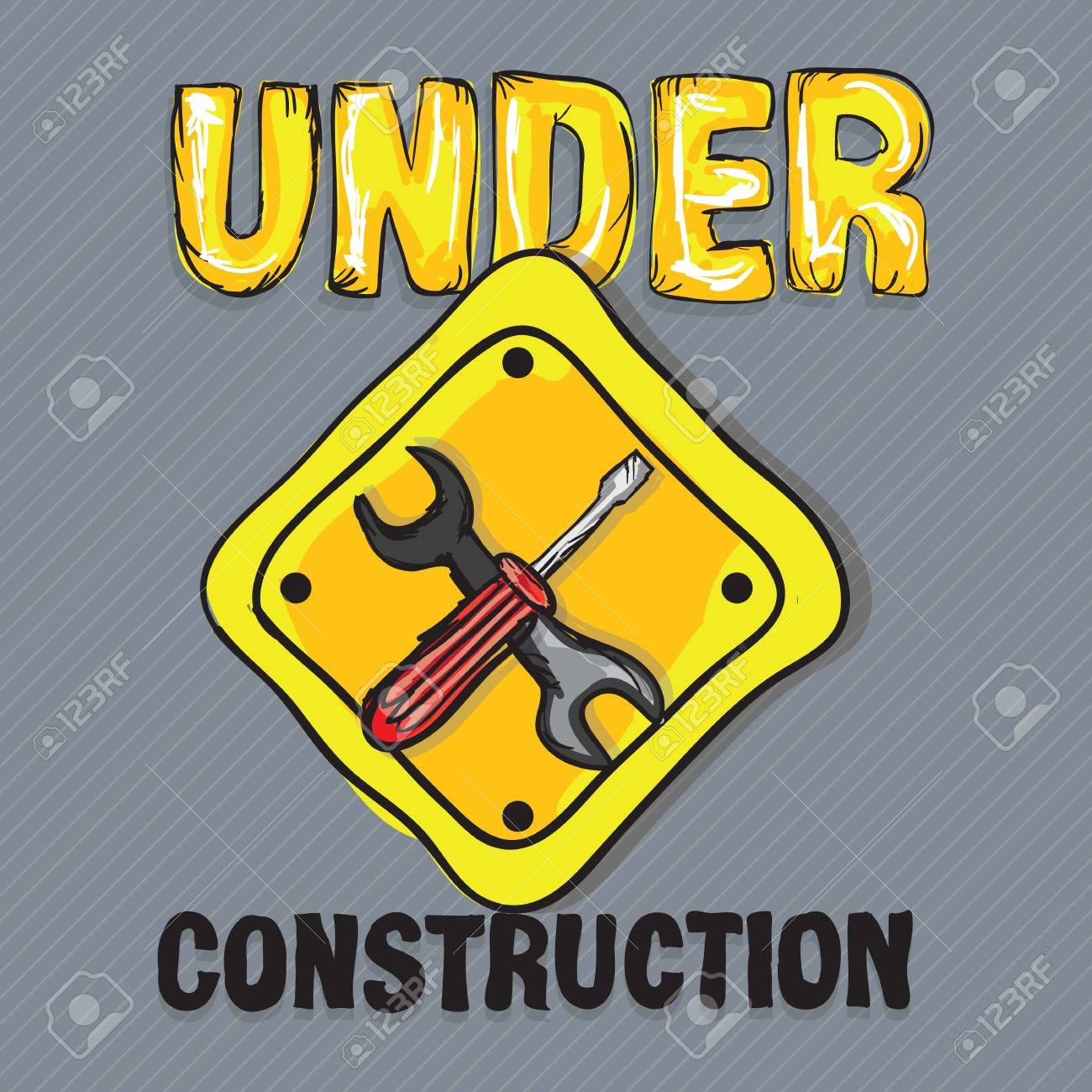 Construction Icons (screwdriver, wrench), Vector illustration Stock Vector - 17978490
