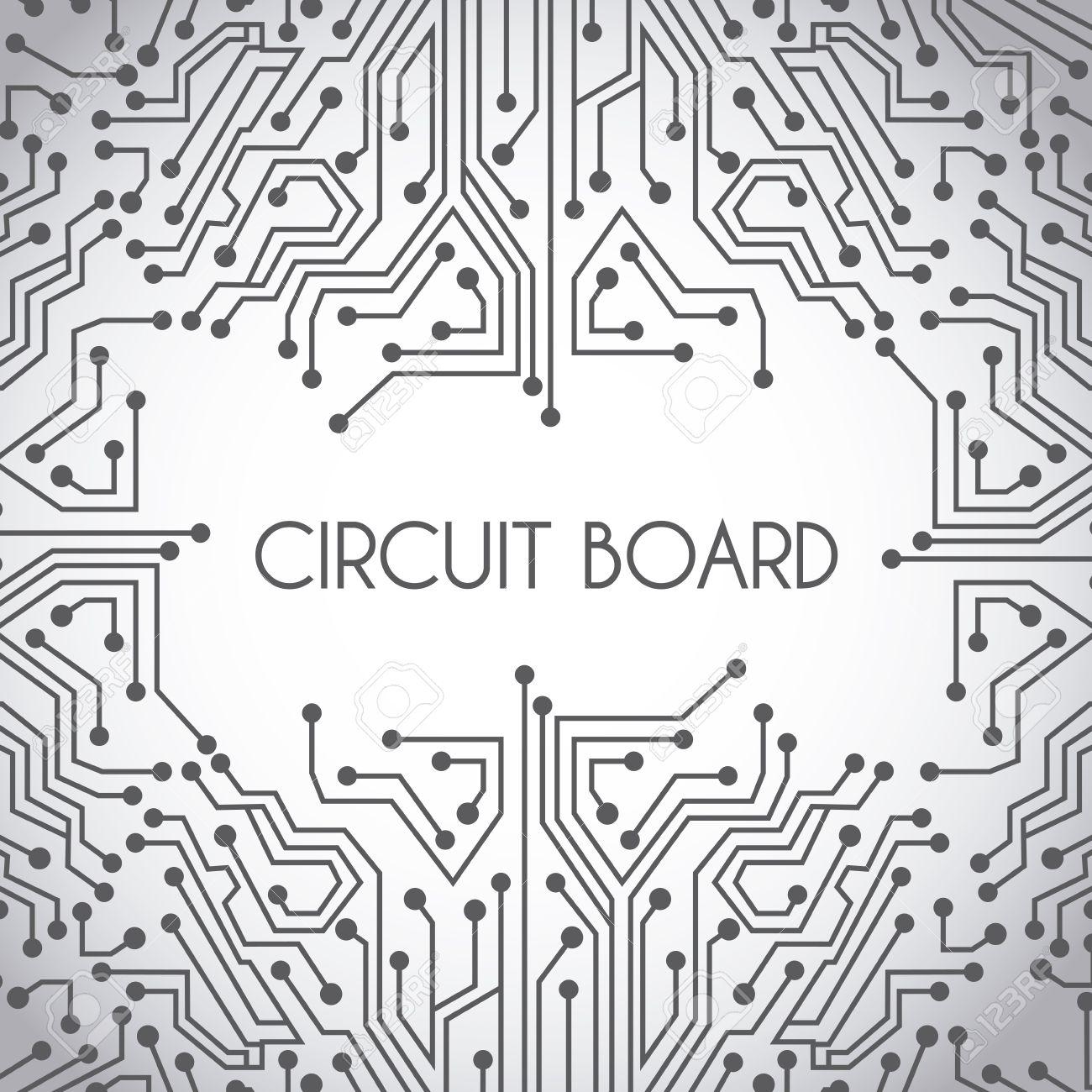 Luxury Circuit Imprimé Vector Inspiration - Wiring Standart ...