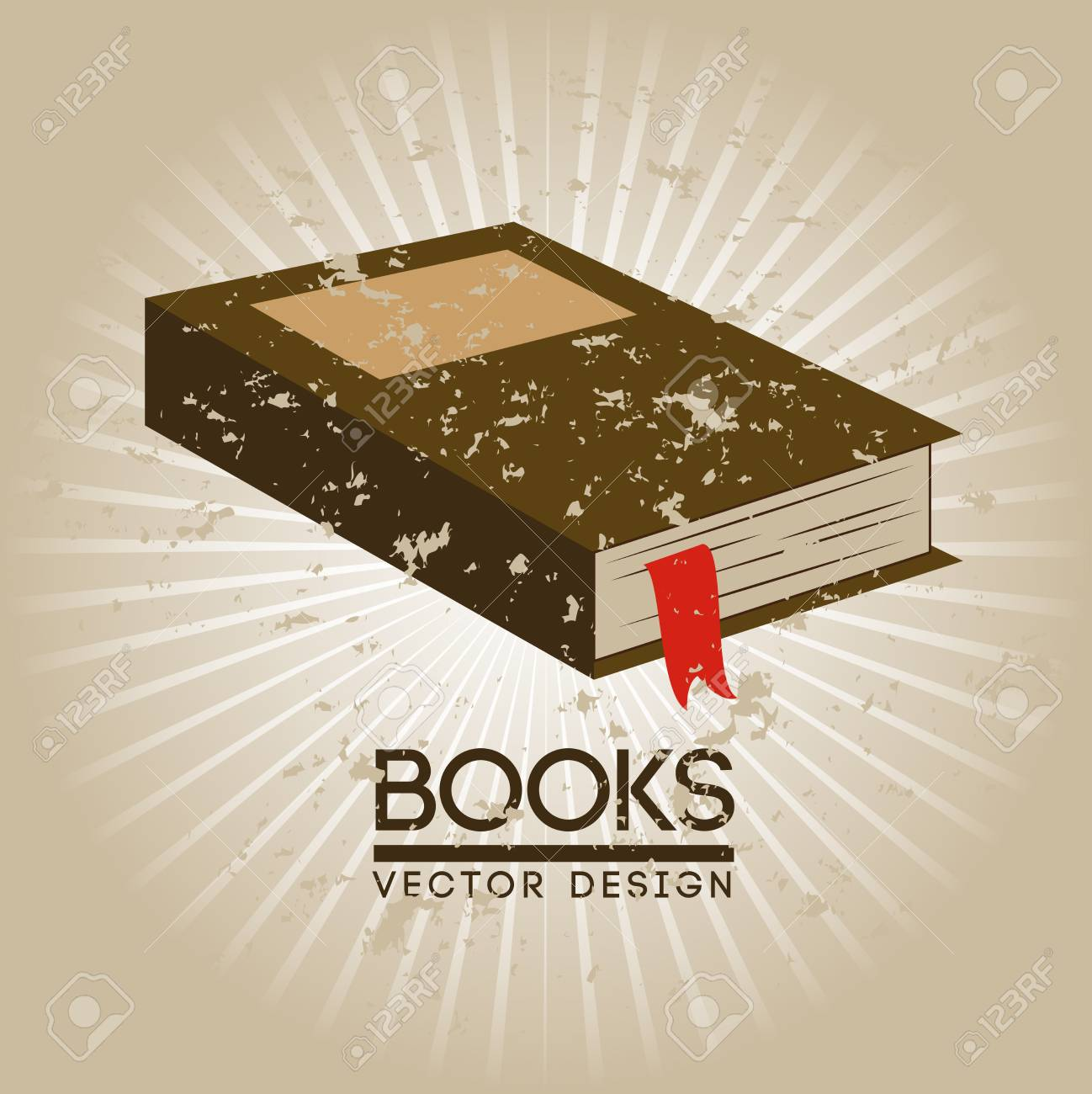 books design over beige background vector illustration Stock Vector - 22333991