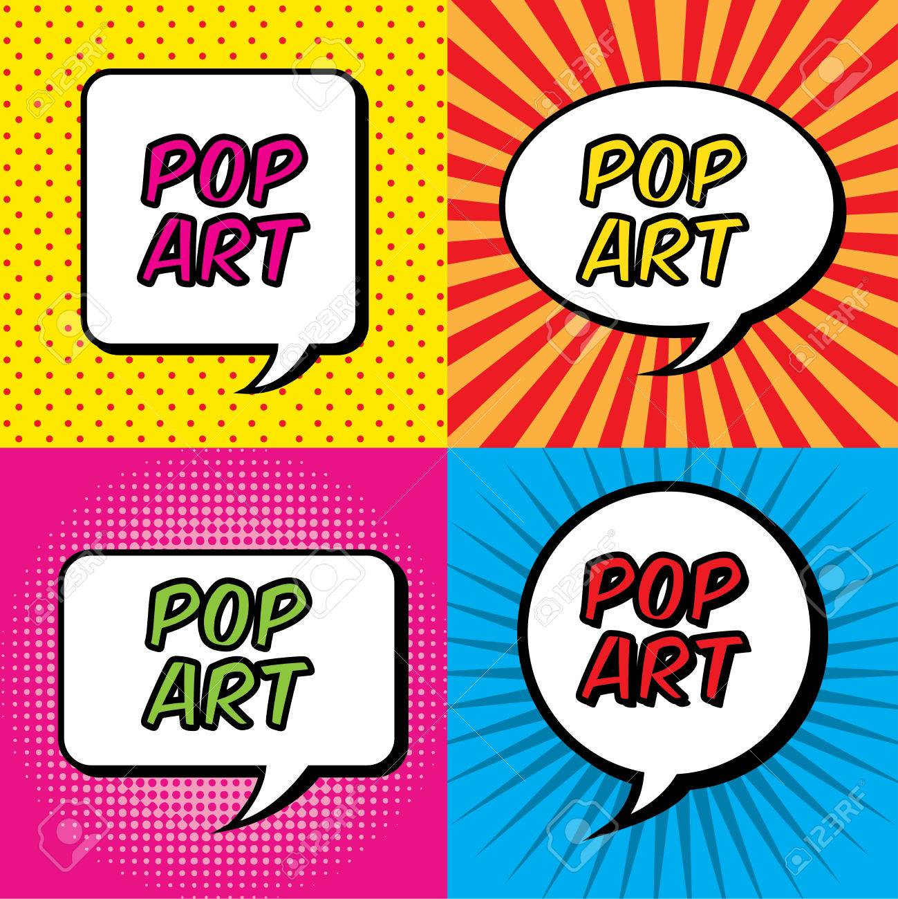 pop art explosion over colorful  background. vector illustration Stock Vector - 23539520