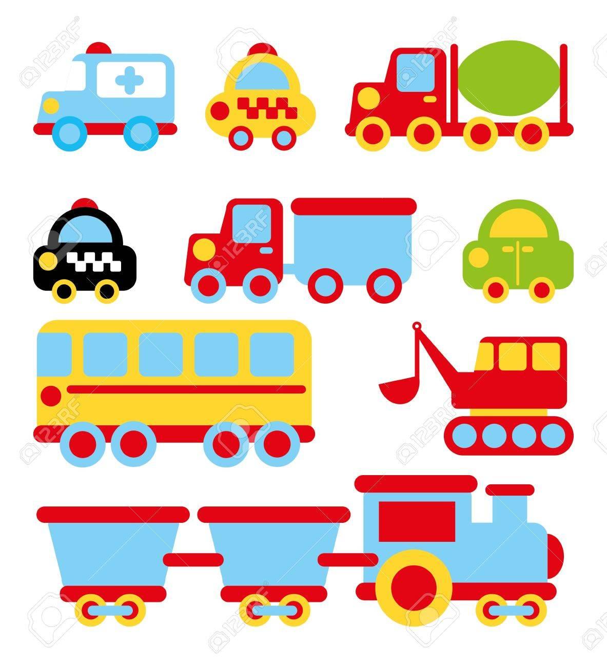 transport design over white background vector illustration Stock Vector - 23539795