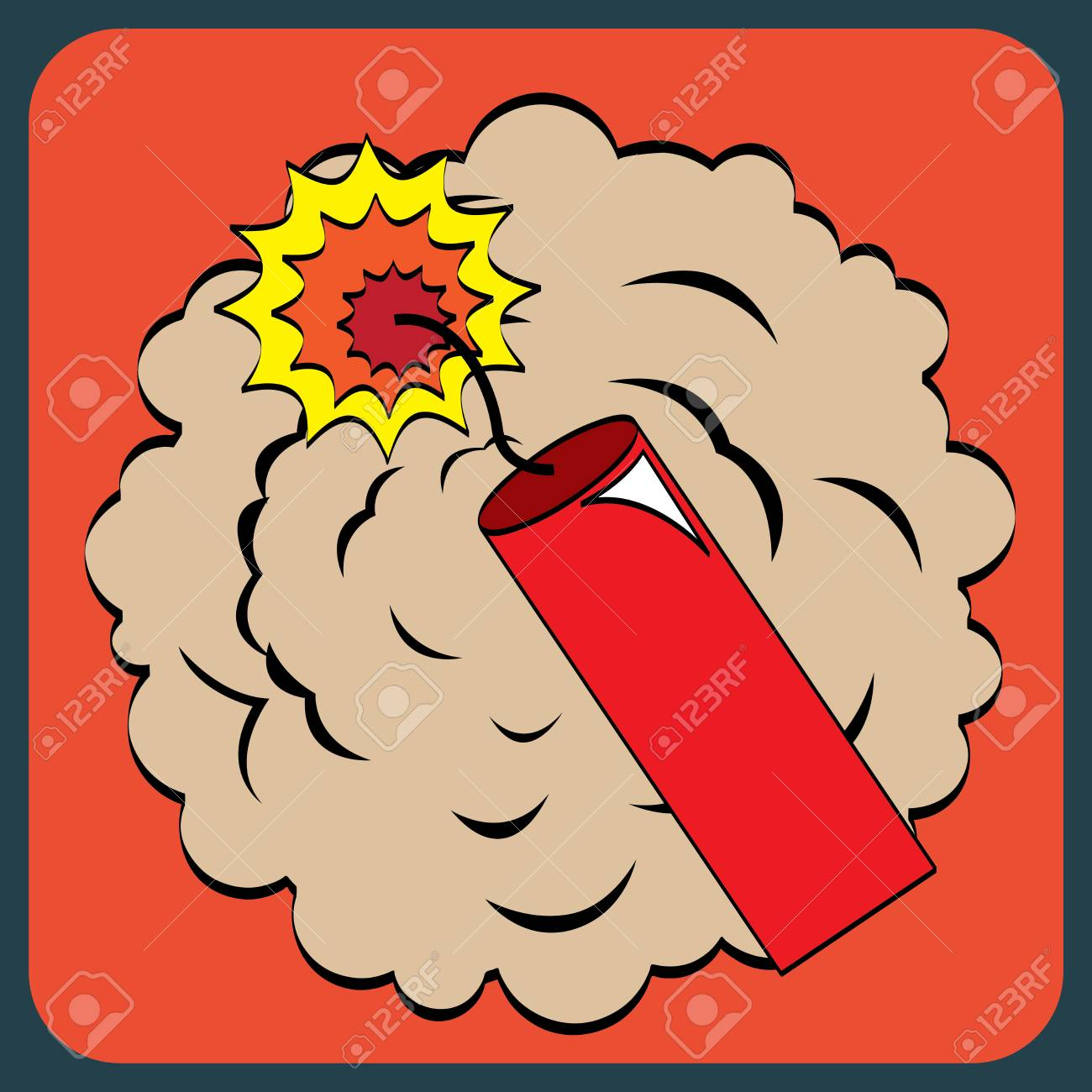 pop art design over red background vector illustration Stock Vector - 26412010