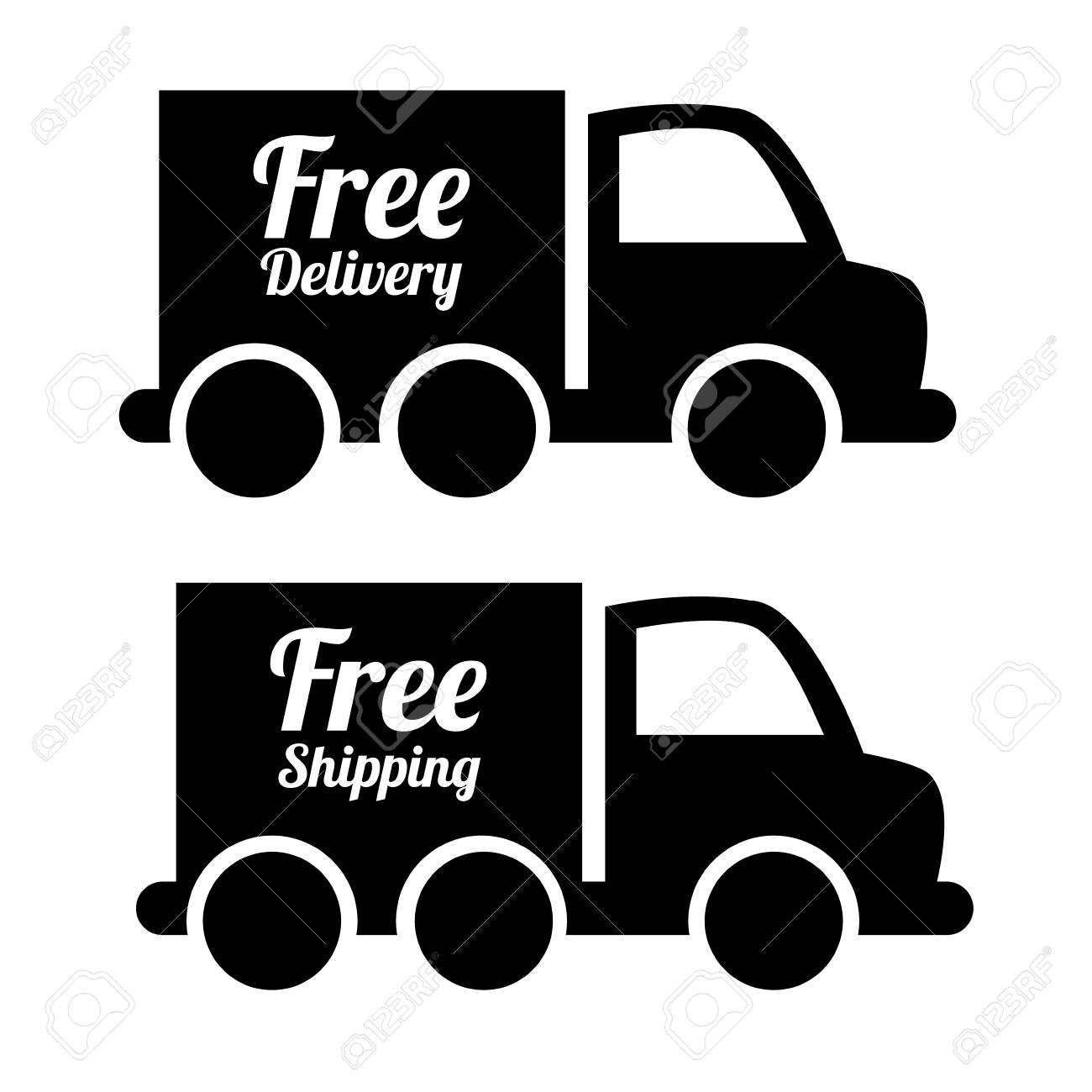 Delivery design over white background, vector illustration Stock Vector - 27767207