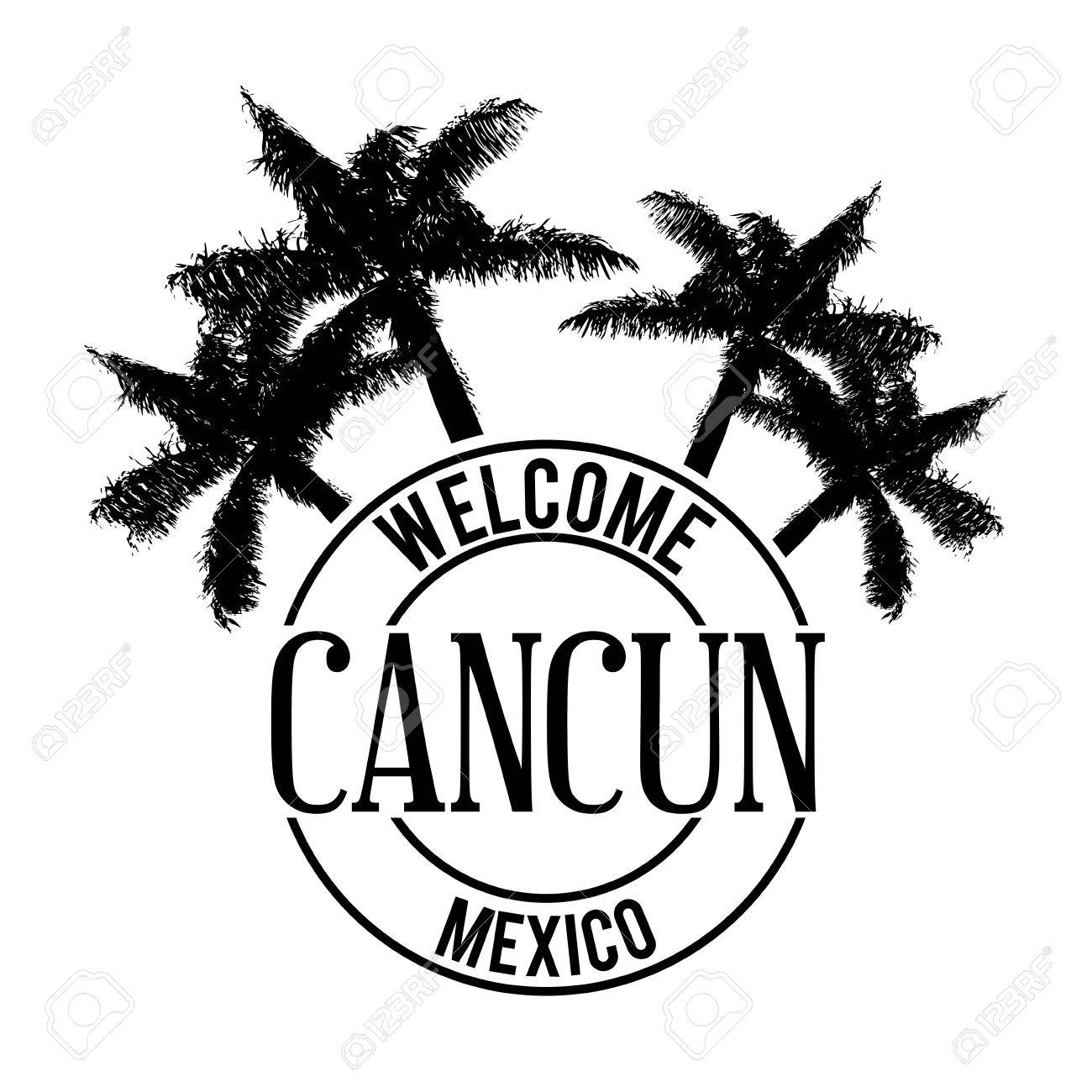 Mexico Design Over White Background Vector Illustration Royalty