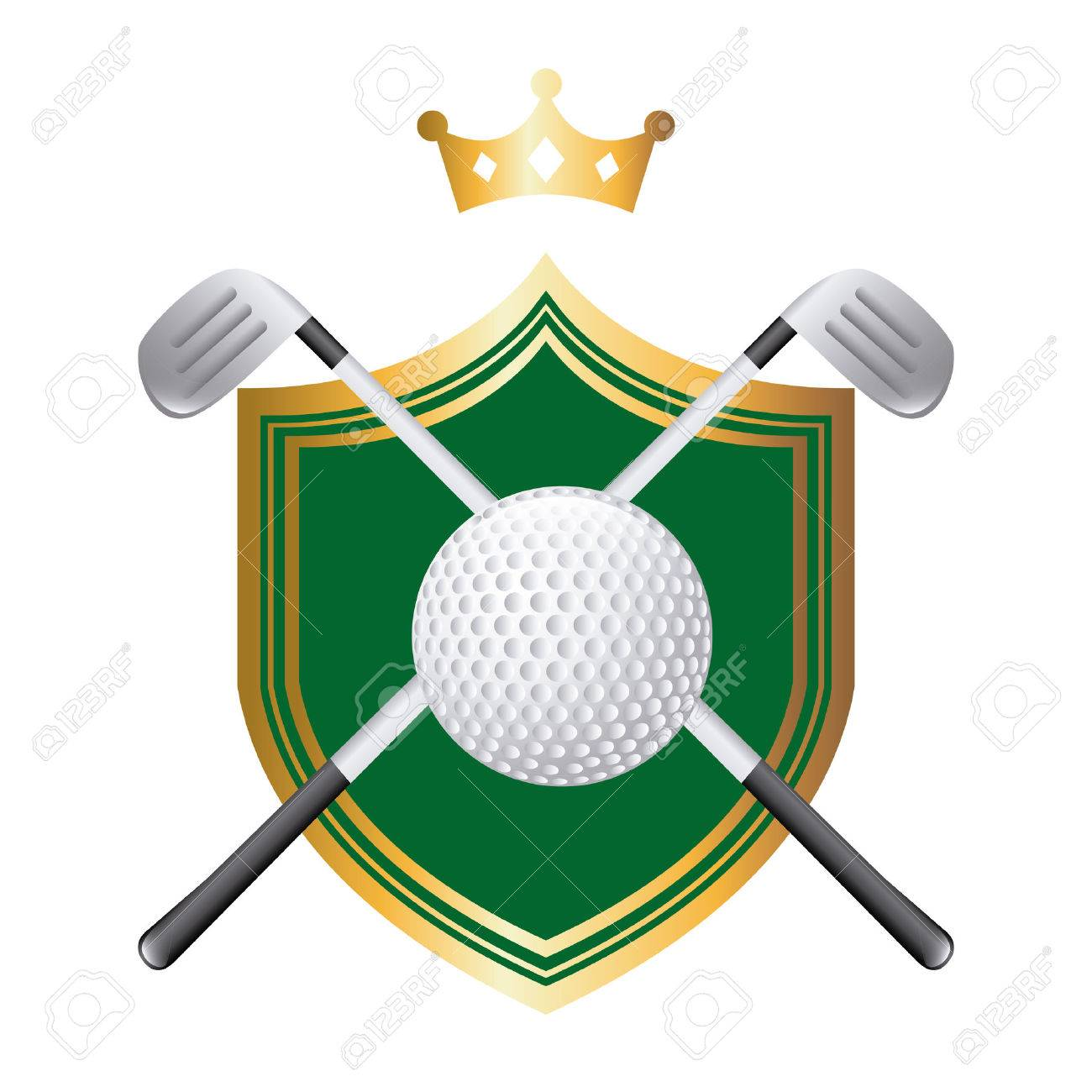 golf graphic design vector illustration royalty free cliparts rh 123rf com golf ball on tee graphic golf ball graphic images