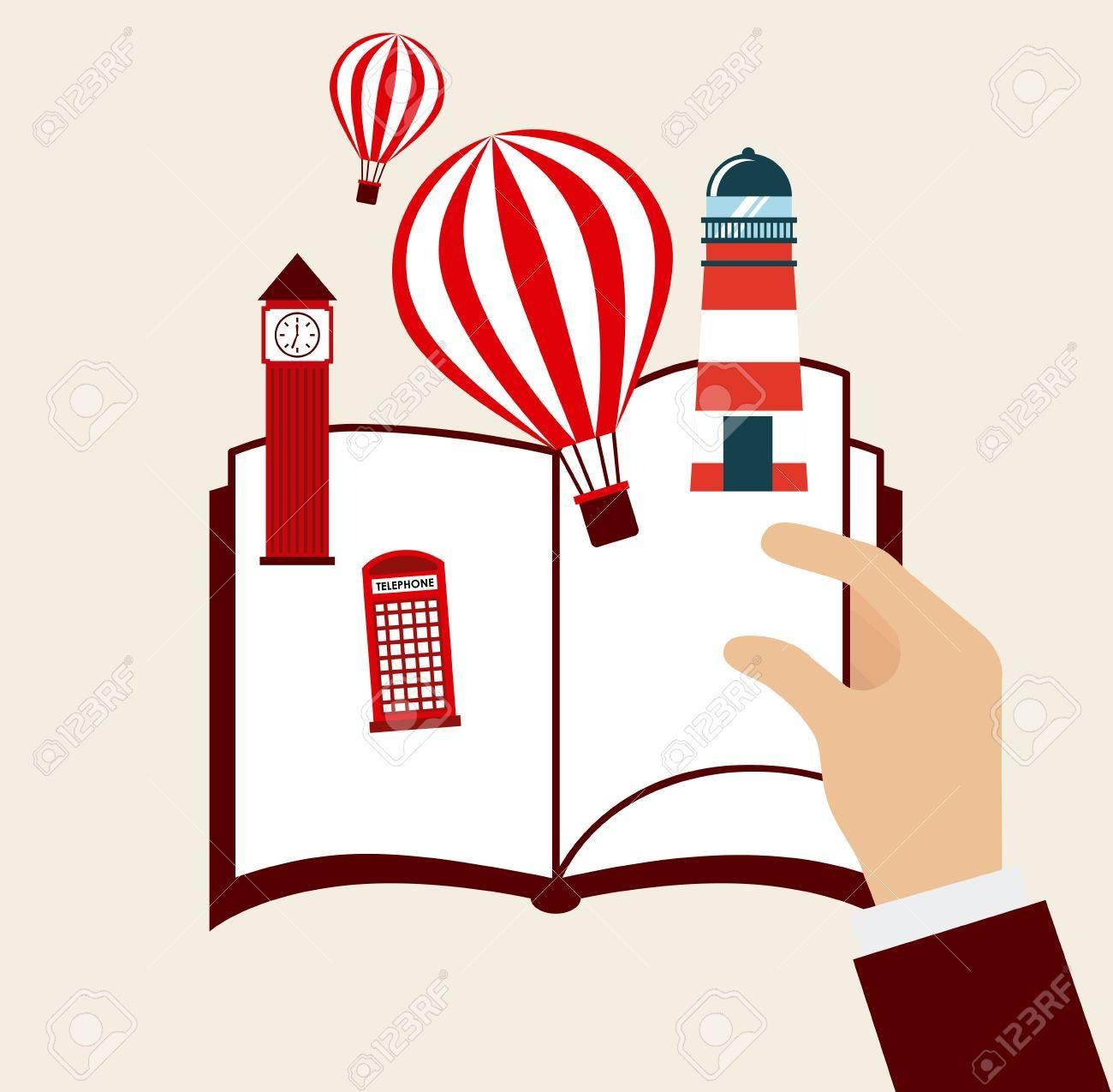 book concept design, vector illustration - 36951956