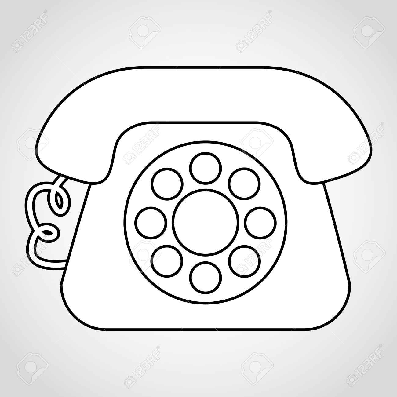 old telephone design royalty free cliparts vectors and stock