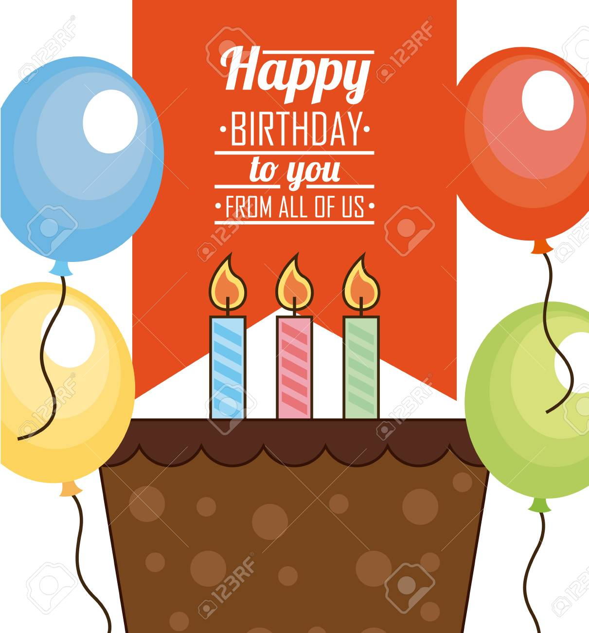 Happy Birthday Design Vector Illustration Eps10 Graphic Royalty Free Cliparts Vectors And Stock Illustration Image 38958233