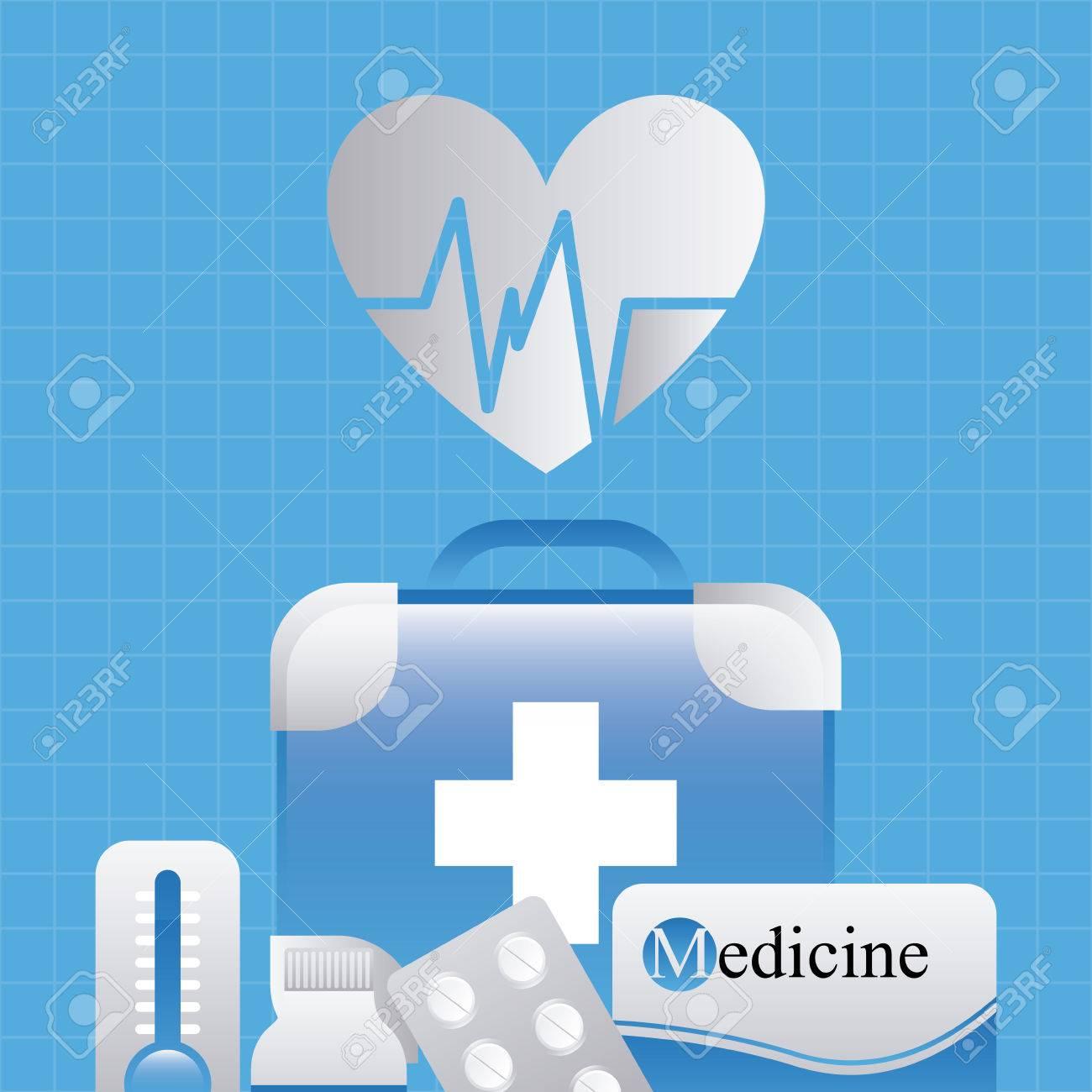 Poster design medical - Medical Poster Design Stock Vector 40950110
