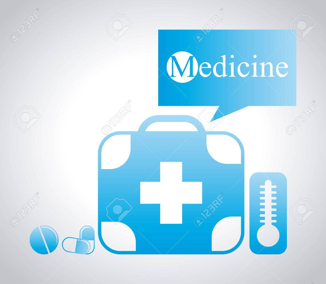 Poster design medical - Medical Poster Design Stock Vector 40950194