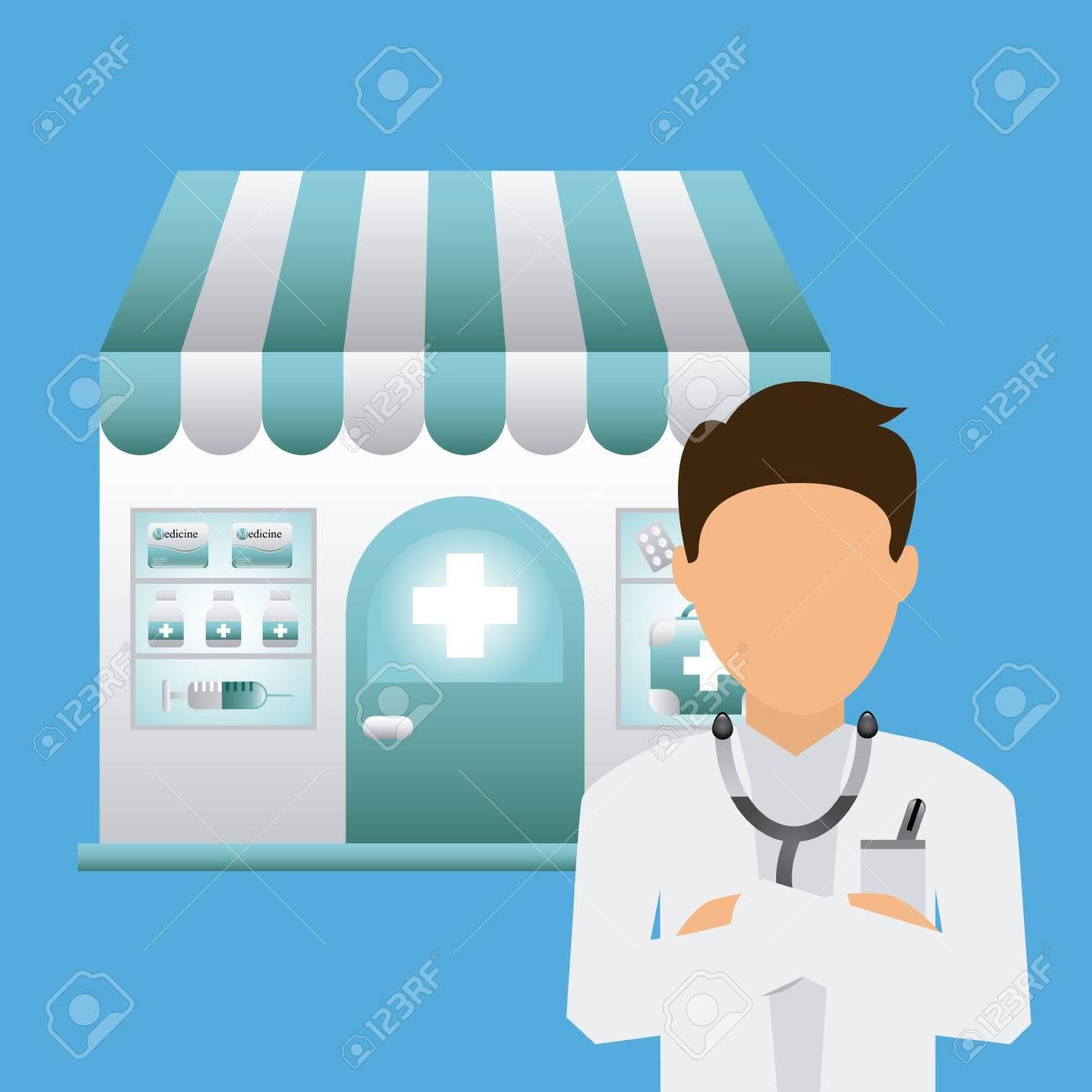 Poster design medical - Medical Poster Design Stock Vector 40950190