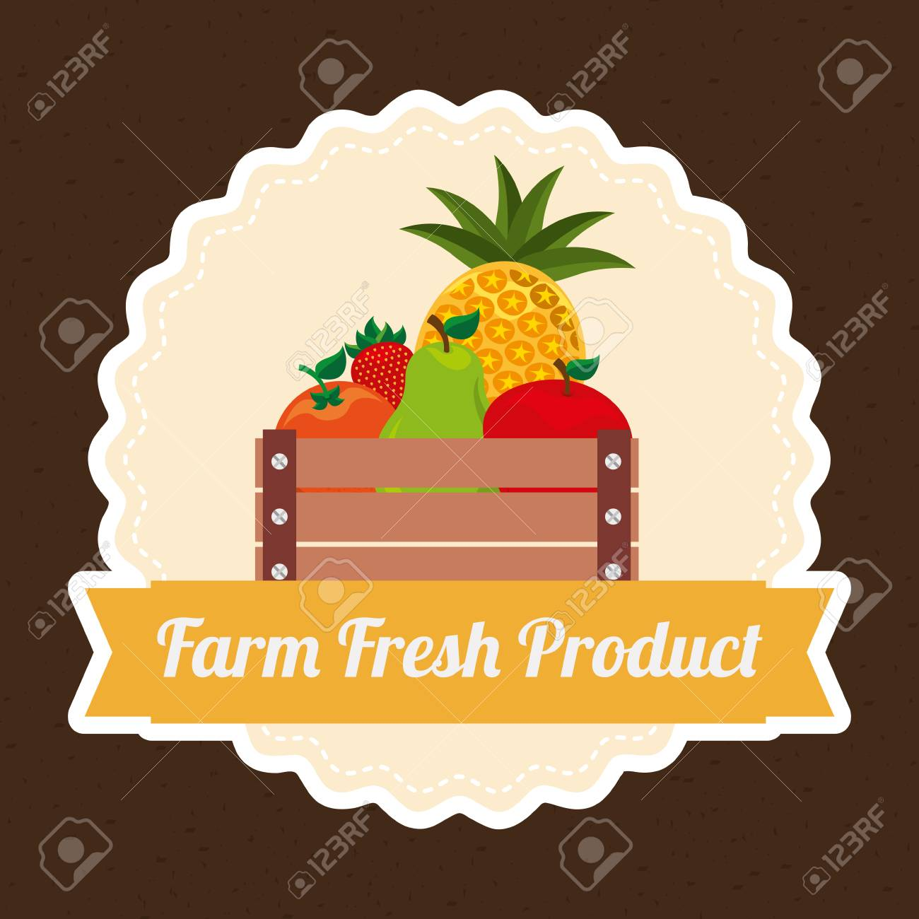 Awe Inspiring Farm Concept Design Vector Illustration Eps10 Graphic Royalty Funny Birthday Cards Online Inifodamsfinfo