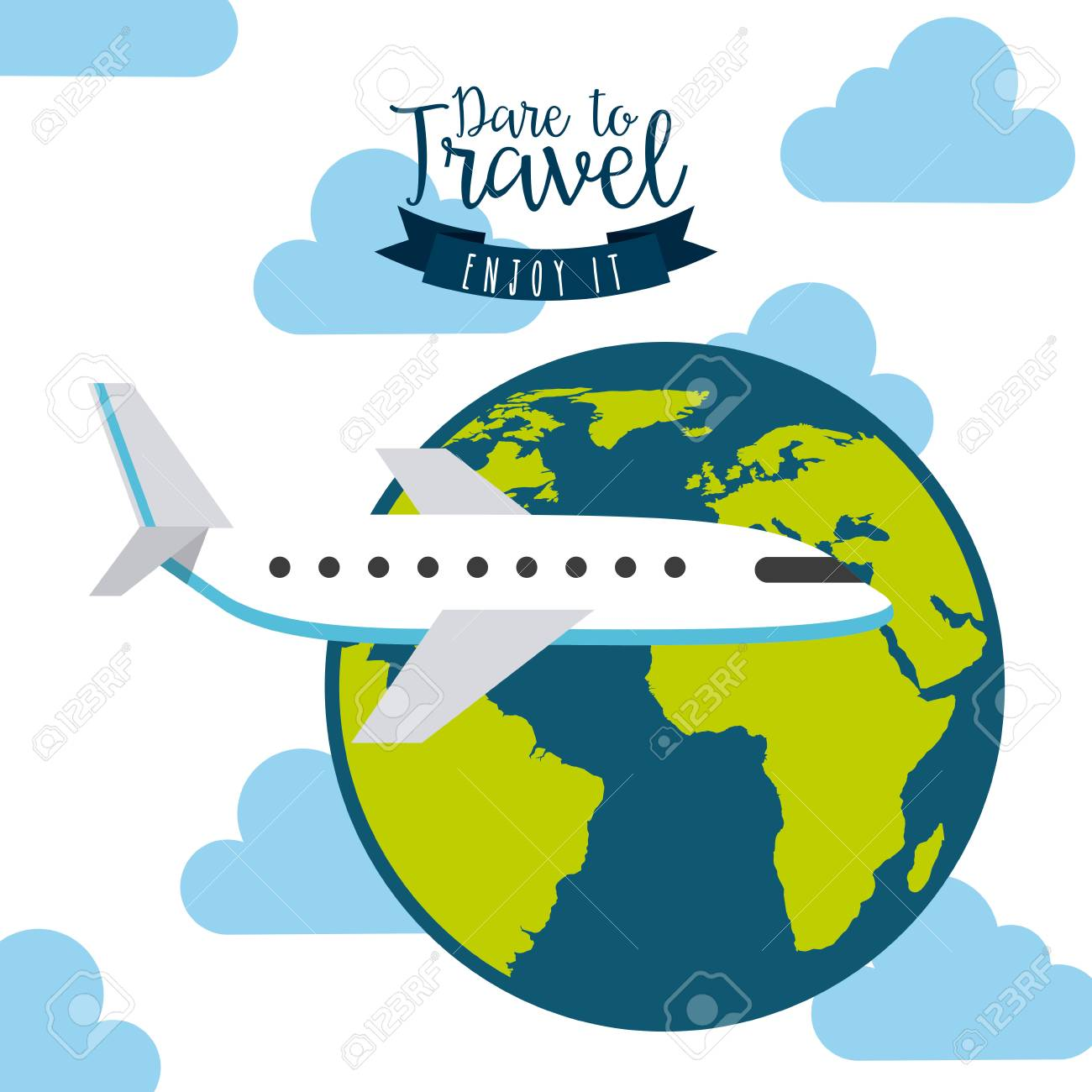 旅行の休暇のデザイン、ベクトル イラスト ロイヤリティフリークリップ