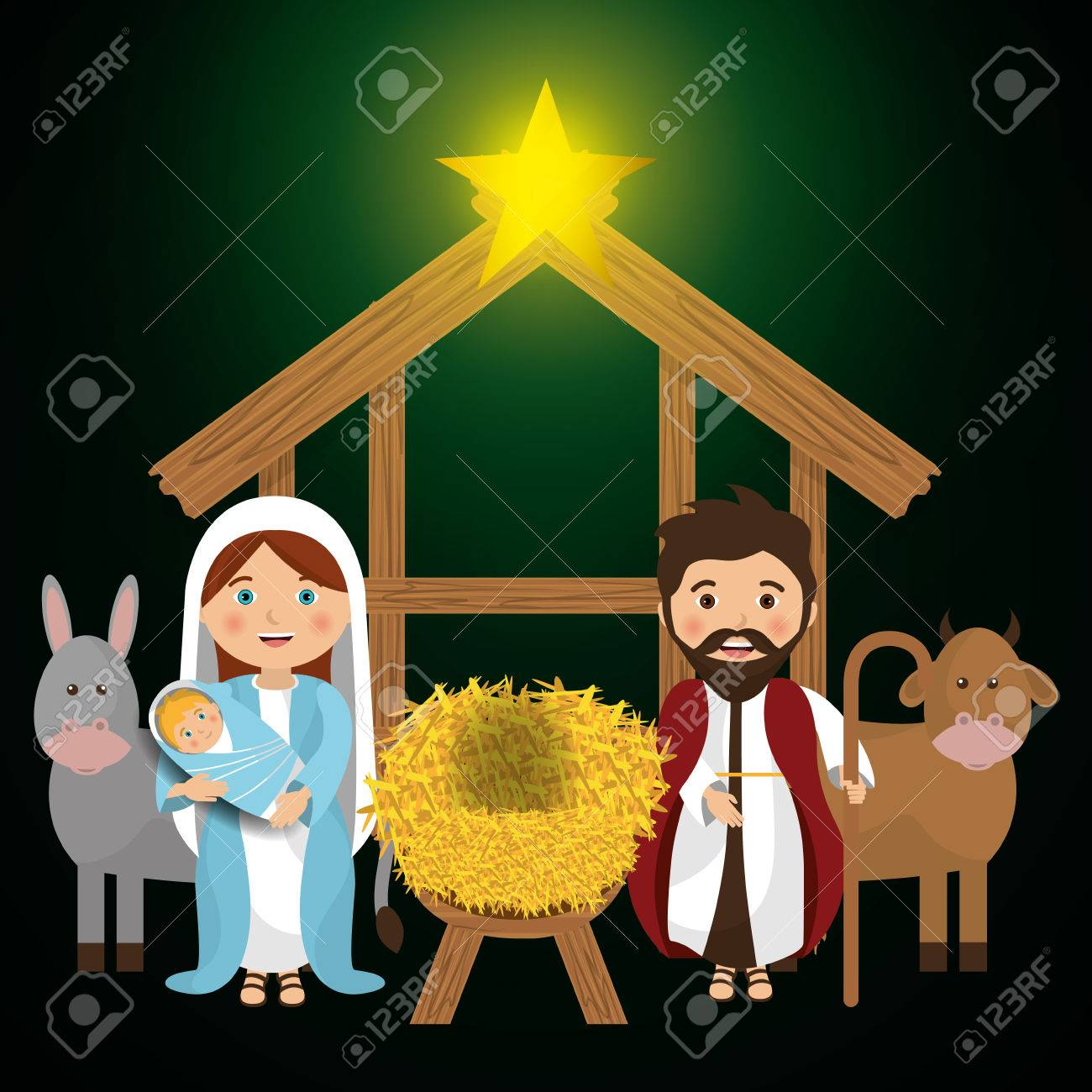Merry christmas cartoons, vector illustration graphic eps10 - 46851023