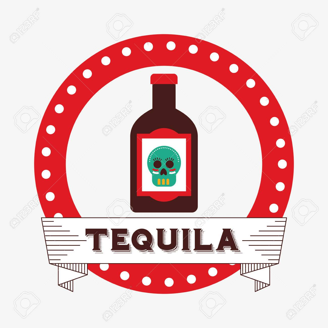 Mexikanische Getränke Design, Vector Illustration Eps10 Grafik ...